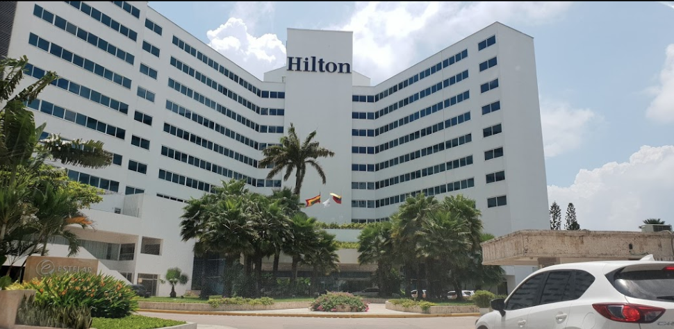 Hilton Cartagena where I stayed!