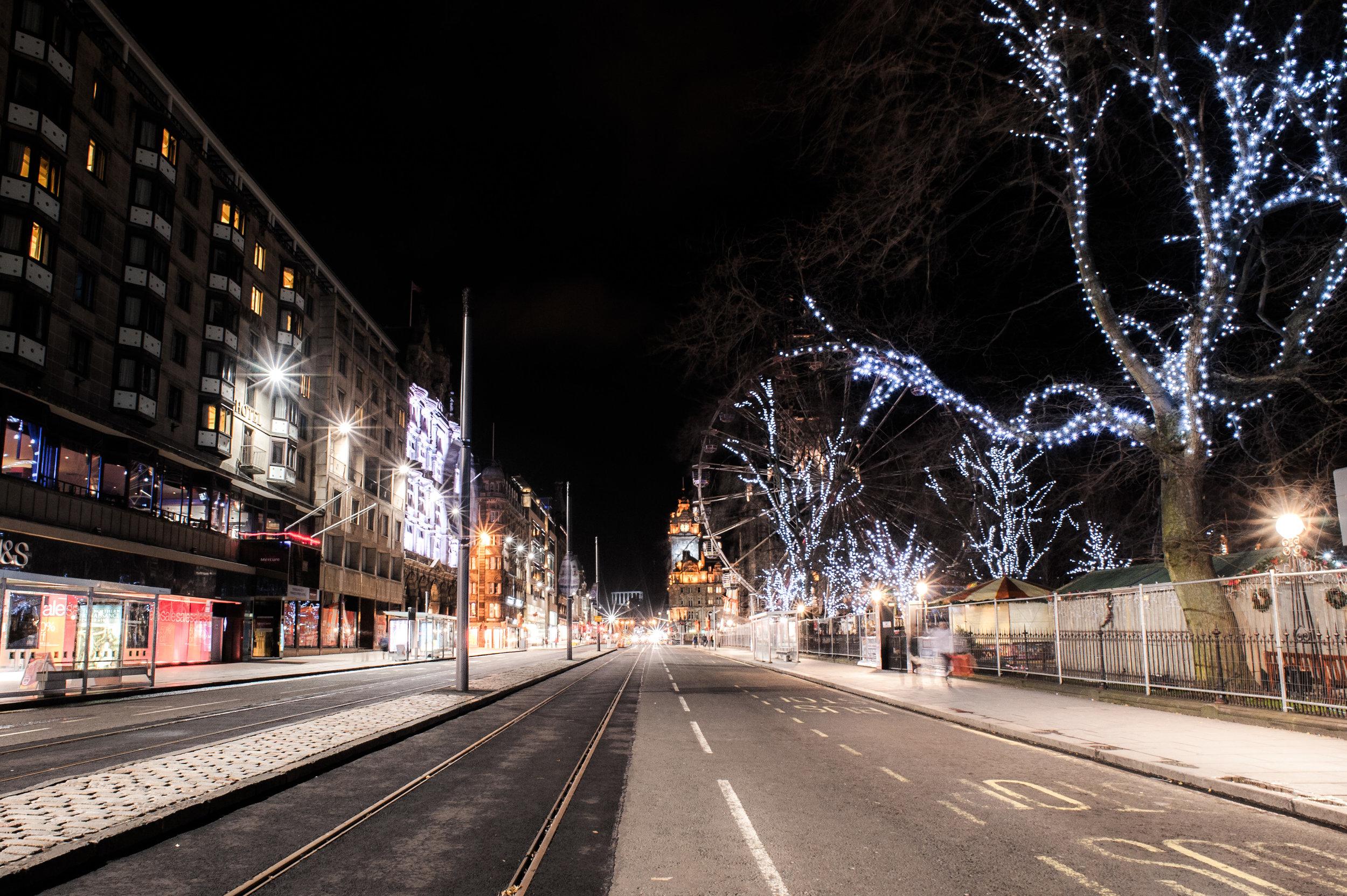 Princes street - Edinburgh - Scotland