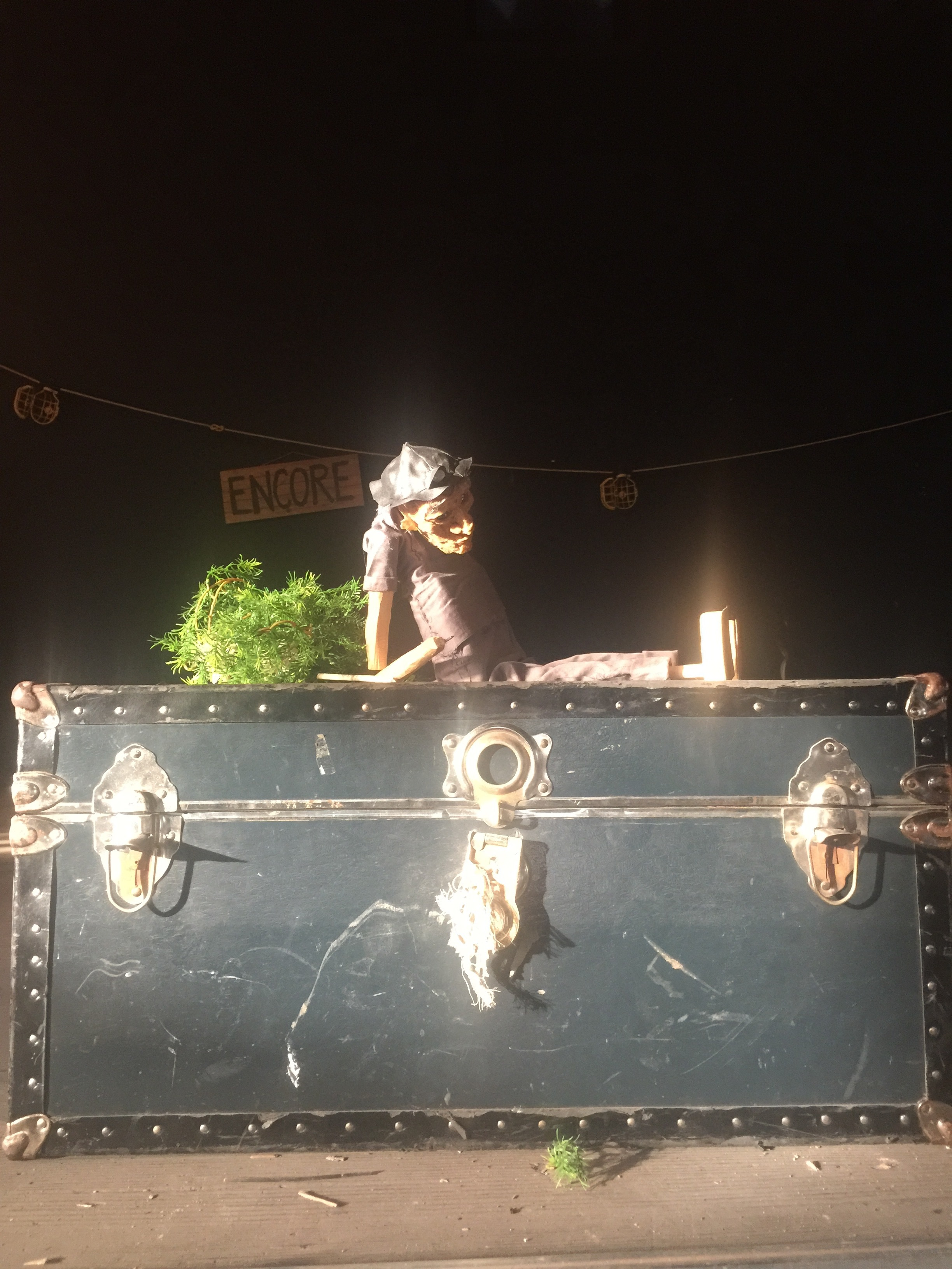 Puppet from  The Ironweed Tales  (May 2018) created by resident artist Felicia Cooper