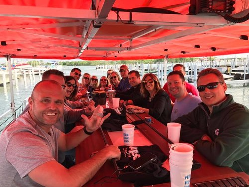 Things to do in Saugatuck? Our cycle boat is the best bar ON the water in West Michigan.