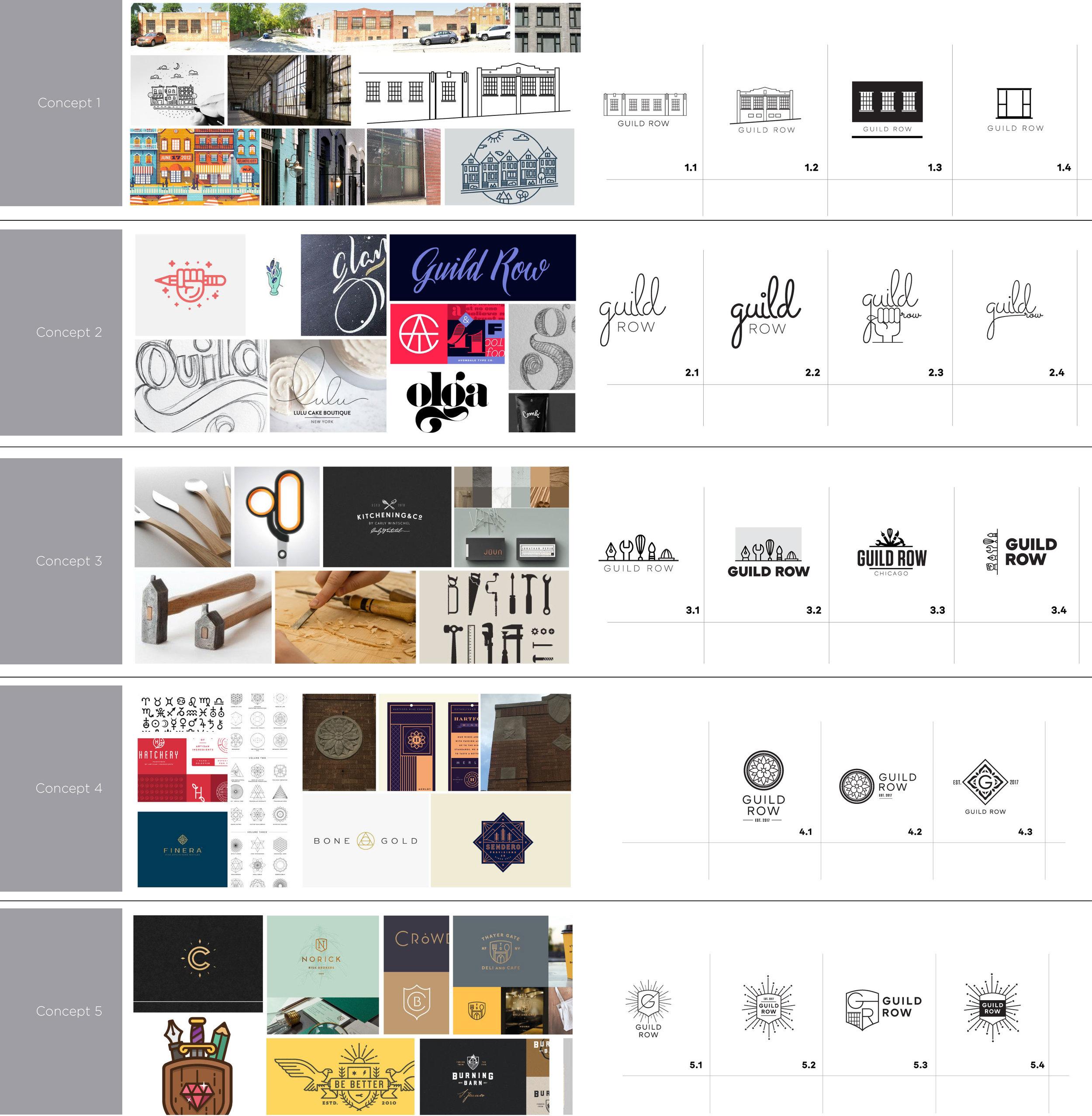 Design Concepts - Round 1