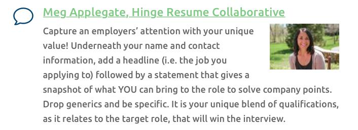 Meg Applegate, Resume Writer, NRWA Ask an Expert.png