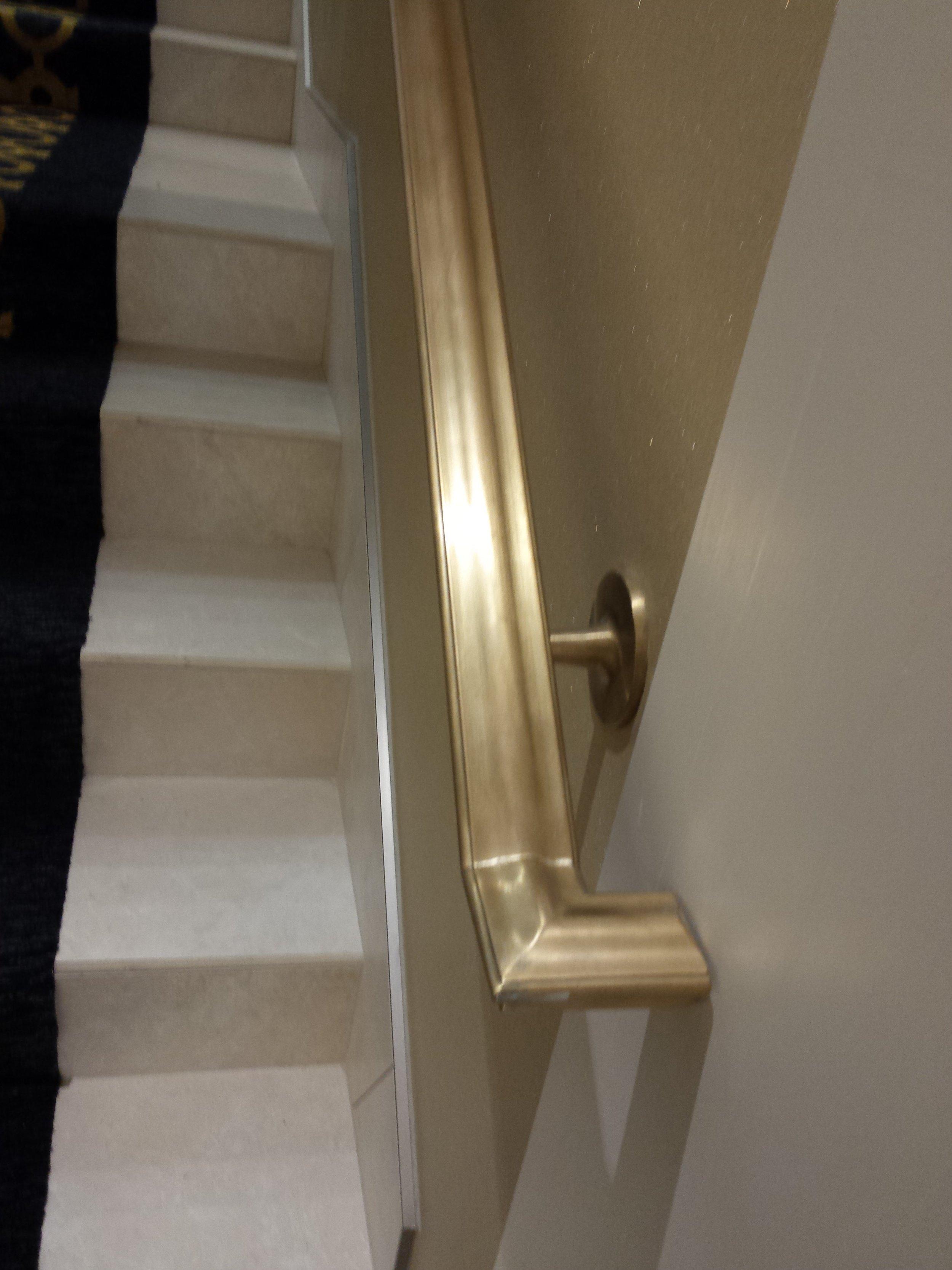 Custom Brass Handrails