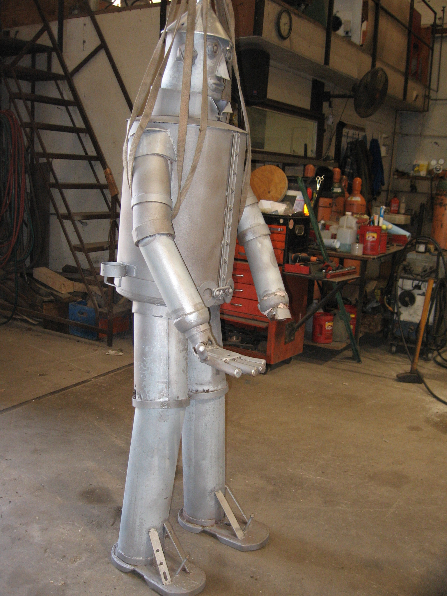 Tin Man Mailbox - Restoration Job