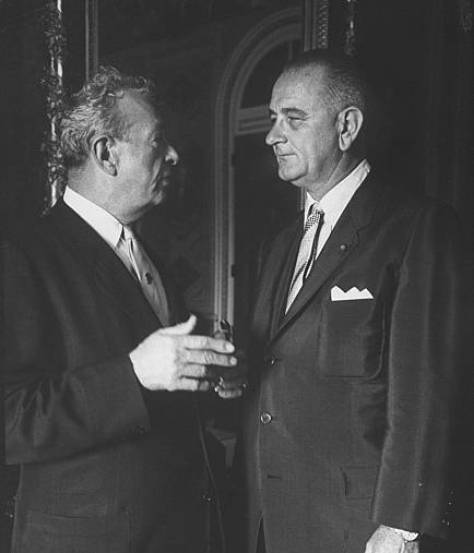 Senator Everett M. Dirksen(R) & President Lyndon B. Johnson(D)