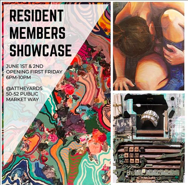 See some never before shown photographs as part of the June First Friday Resident Member Showcase at The Yards.