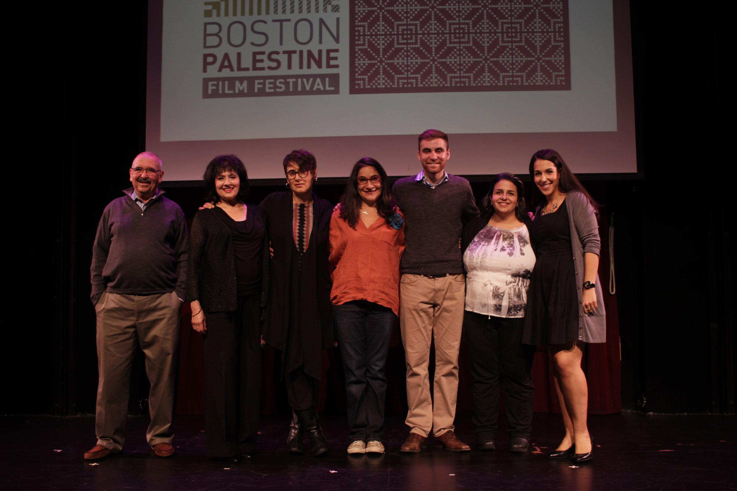 Palestinians, Live! BostonOctober 23, 2016, Oberon TheaterCambridge, MAIn collaboration with the Boston Palestine Film Festival. - Storytellers: Nijmeh Curren, Dana Sajdi, Sari Abuljubein, Salma Abu-Ayyash, Hani Azzam, Gloria Olivier, and Nadia Abuelezam.
