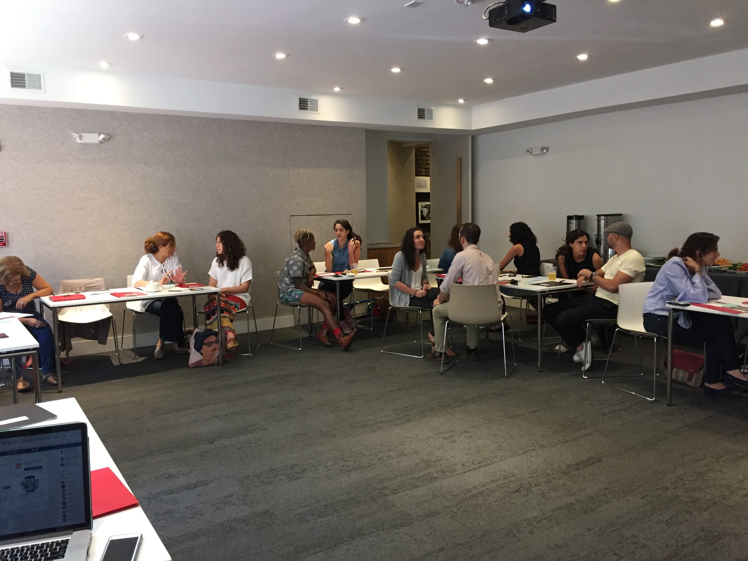 Palestinian Tales: A Storytelling WorkshopJuly 30, 2017, The Potter's HouseIn collaboration with the D.C. Palestinian Film and Arts Festival. - Storytelling workshop led by Nadia Abuelezam attended by 25 storytellers.