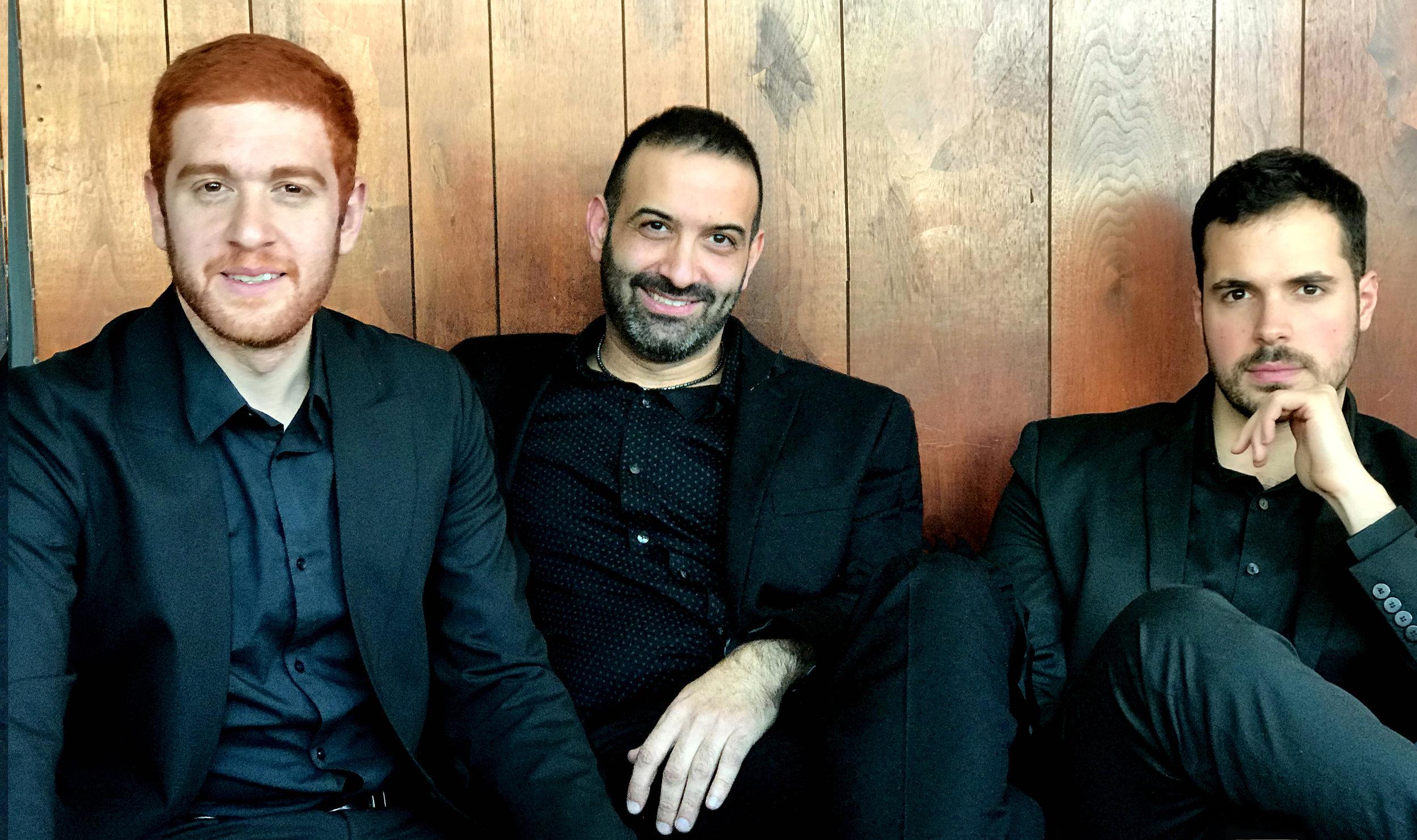Ayn Trio - Layth Sidiq, Basel Zayed, and Naseem Alatrash