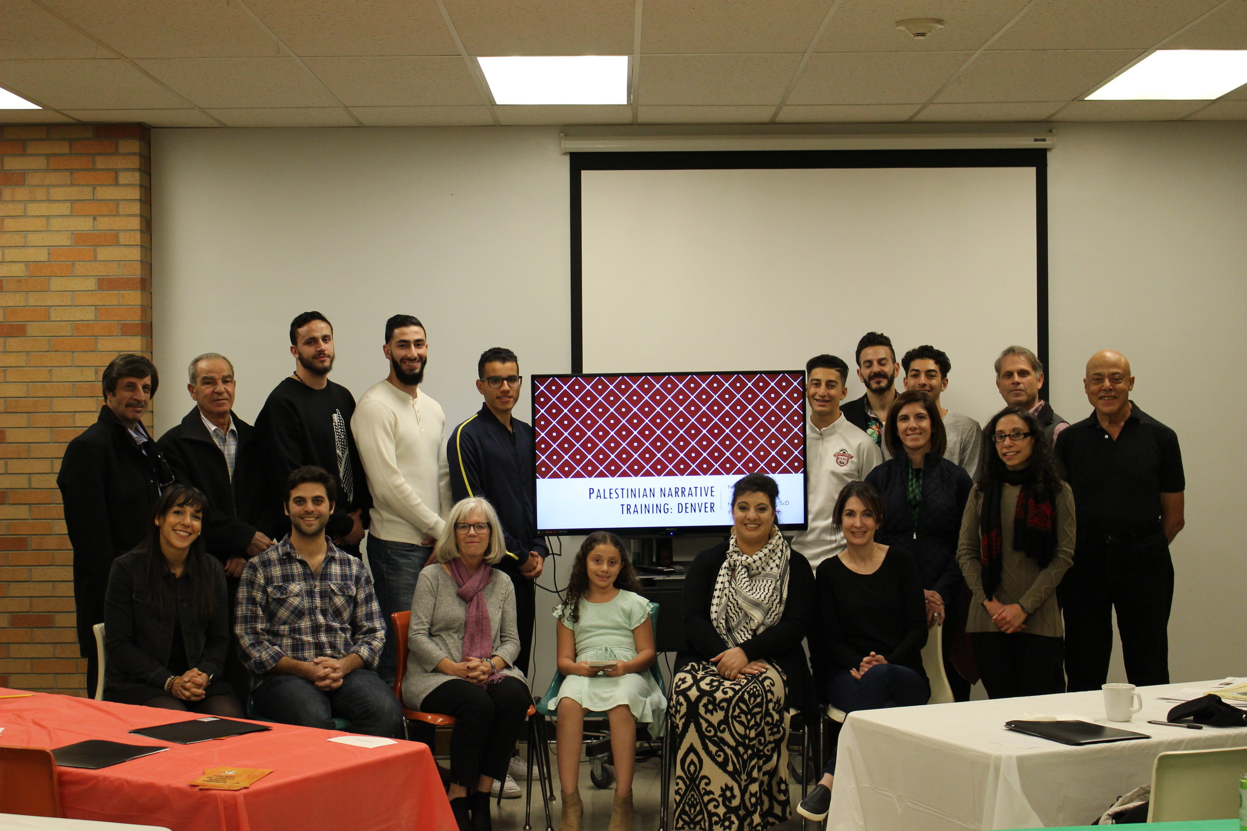 Palestinian Narrative Training - Denver, COSunday November 4, 2018Storytelling workshop led by Nadia Abuelezam held in collaboration with FOSNA with 30 attendees.