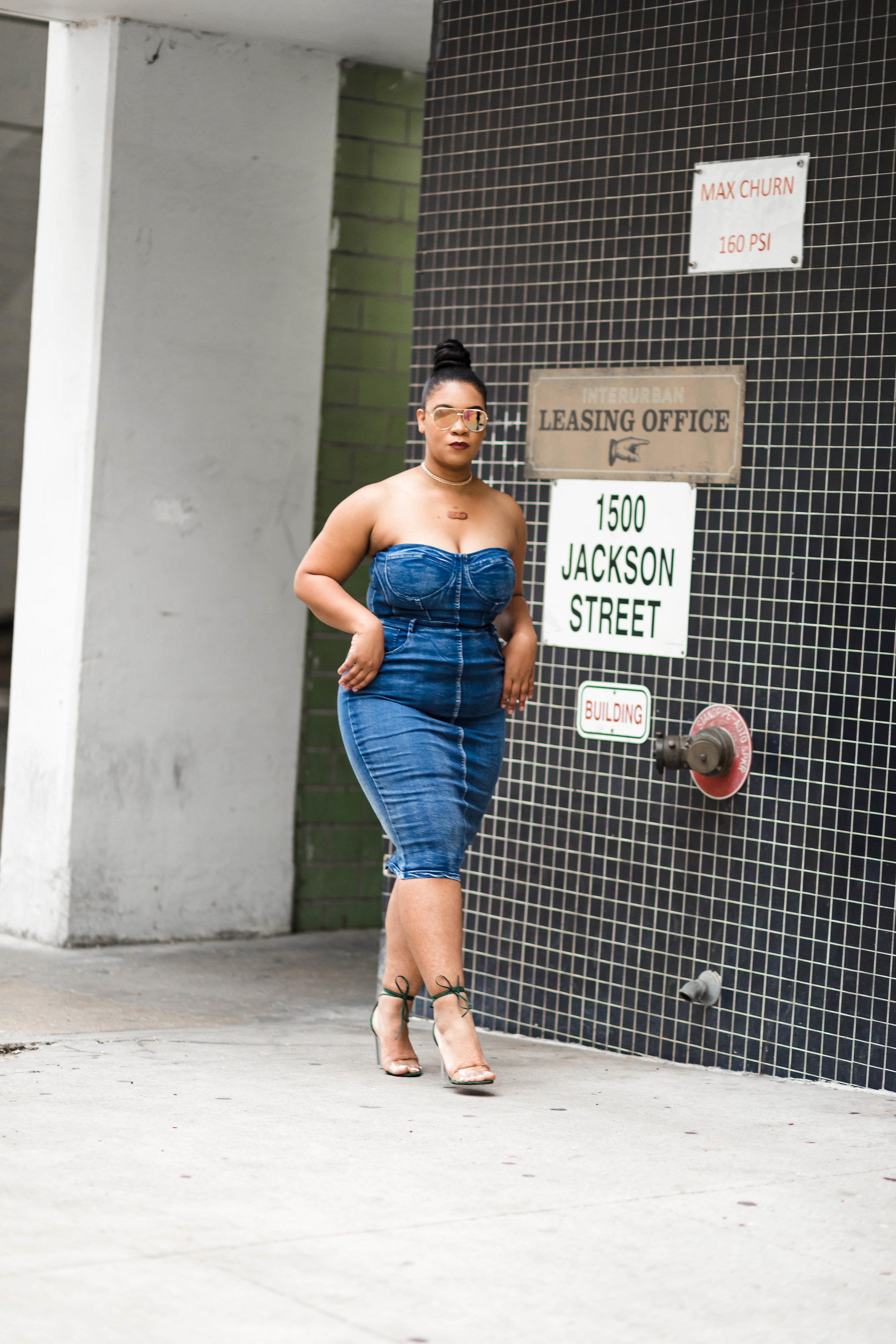 I Spy Denim: Denim Dress Outfit for Summer - Natalie Greagor