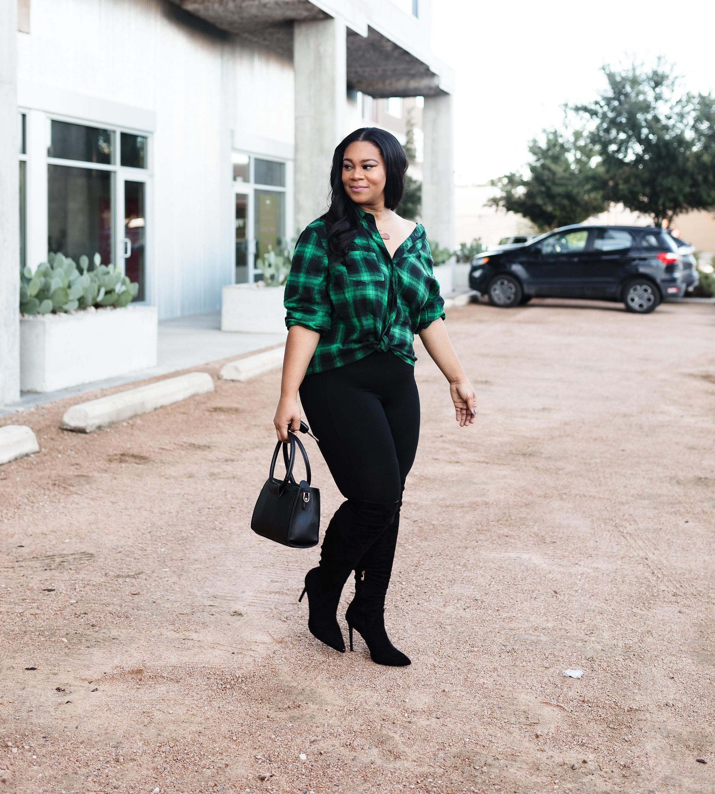 Plaid Flannel Shirt Outfit - Natalie Greagor.jpg