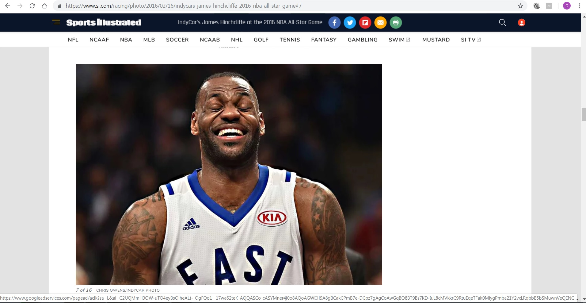 Sports Illustrated - Lebron James