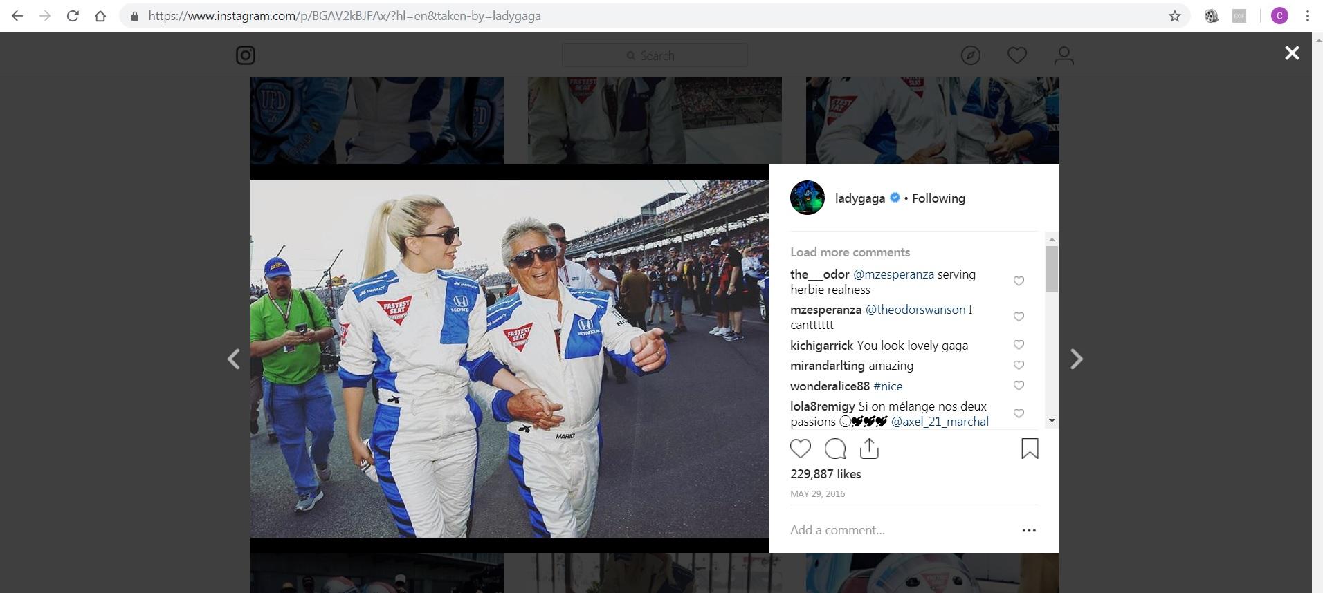 Lady Gaga - Instagram