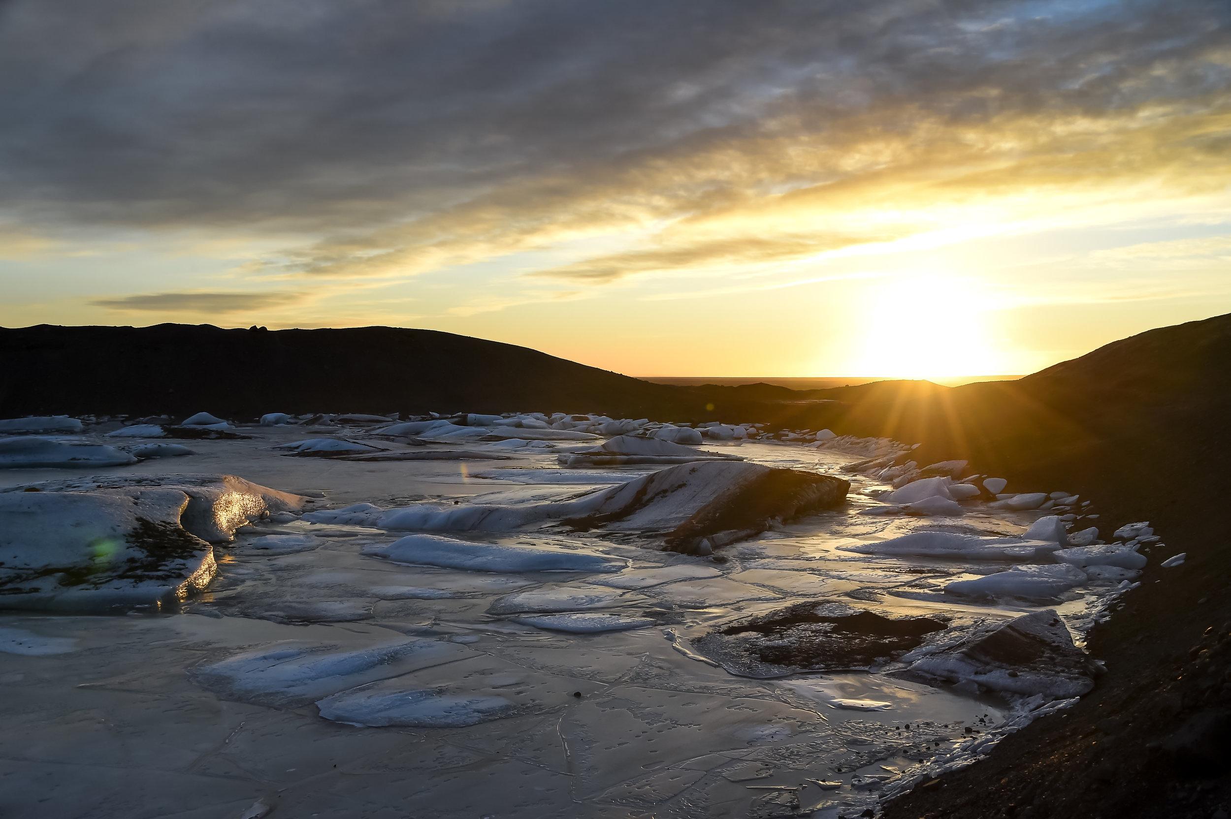 Sunset - Iceland