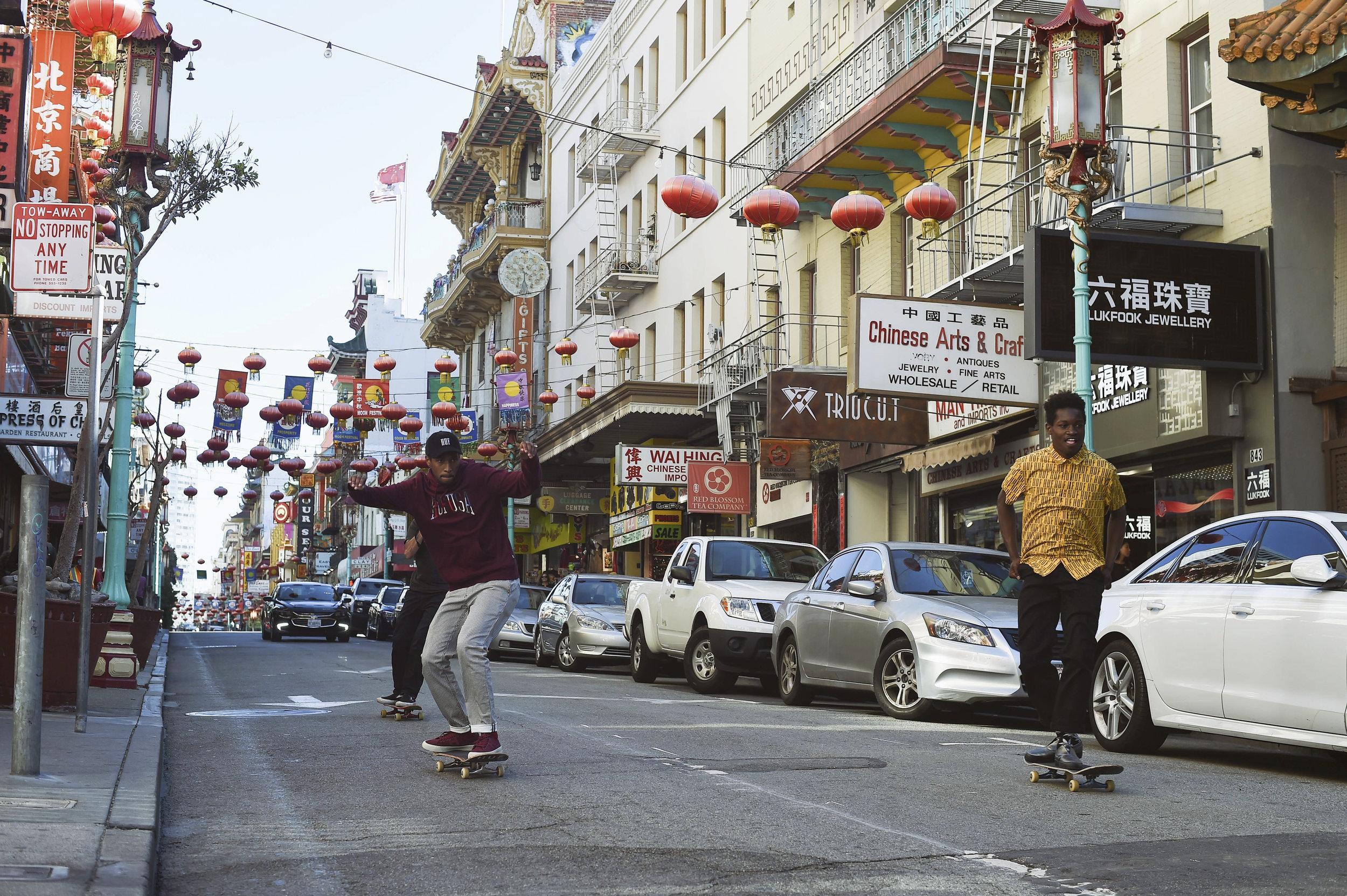 Rolling Through - San Francisco, CA