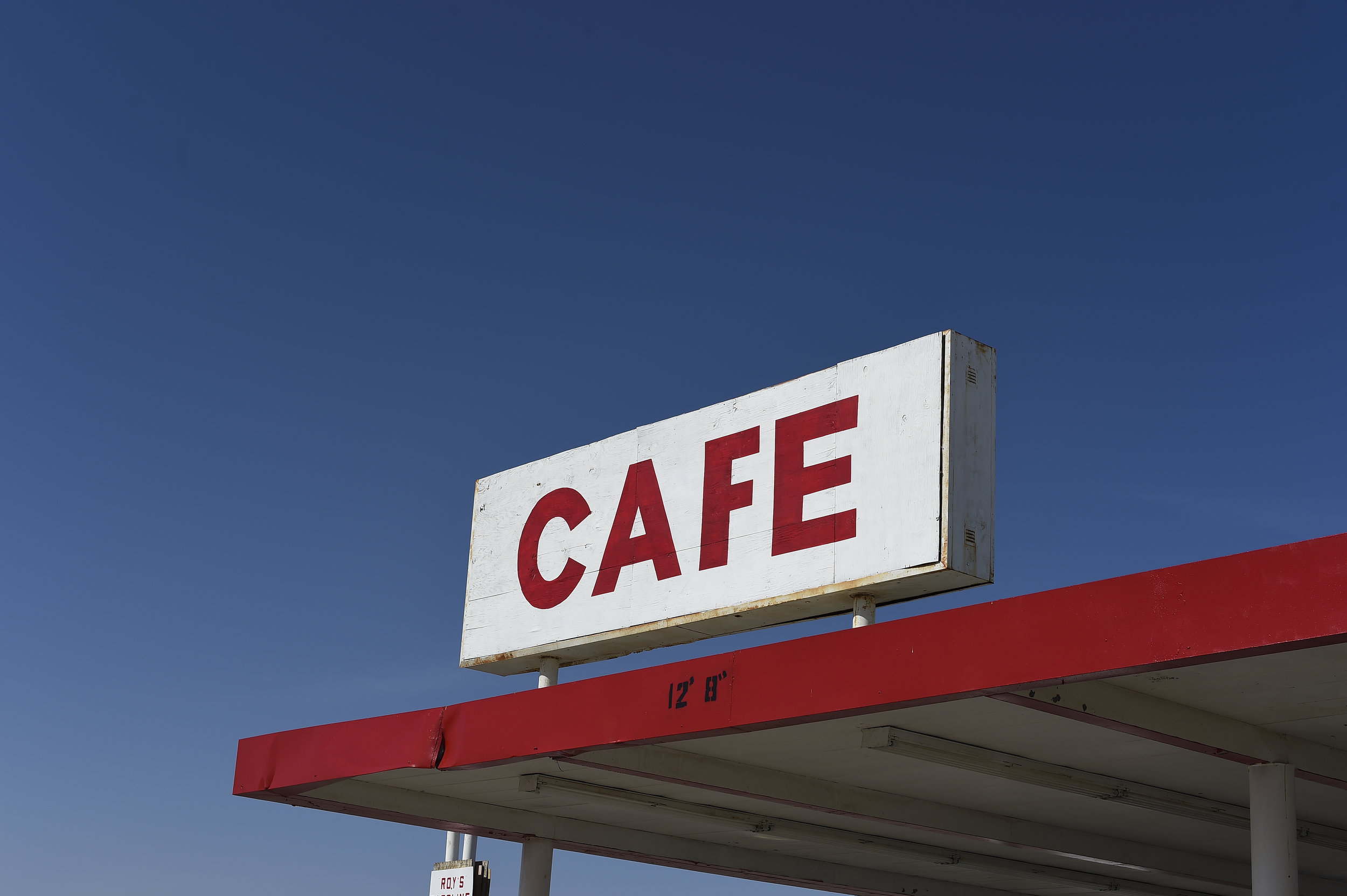 Cafe - Route 66, California