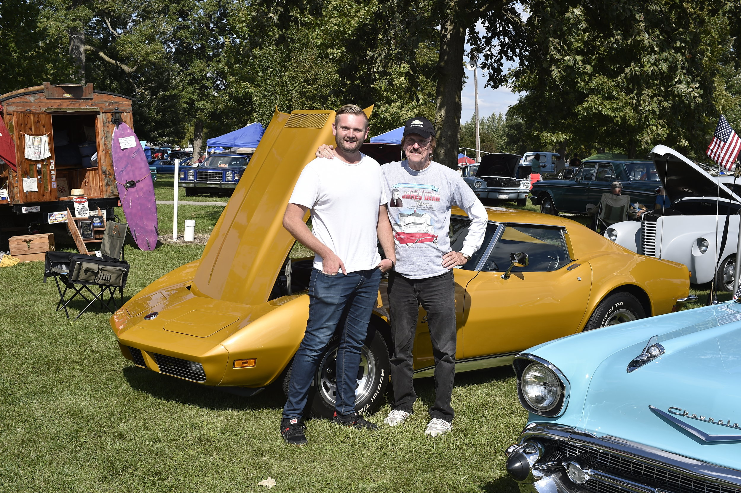 Jim Haines & I - Shot with Nikon D4S - Fairmount, IN