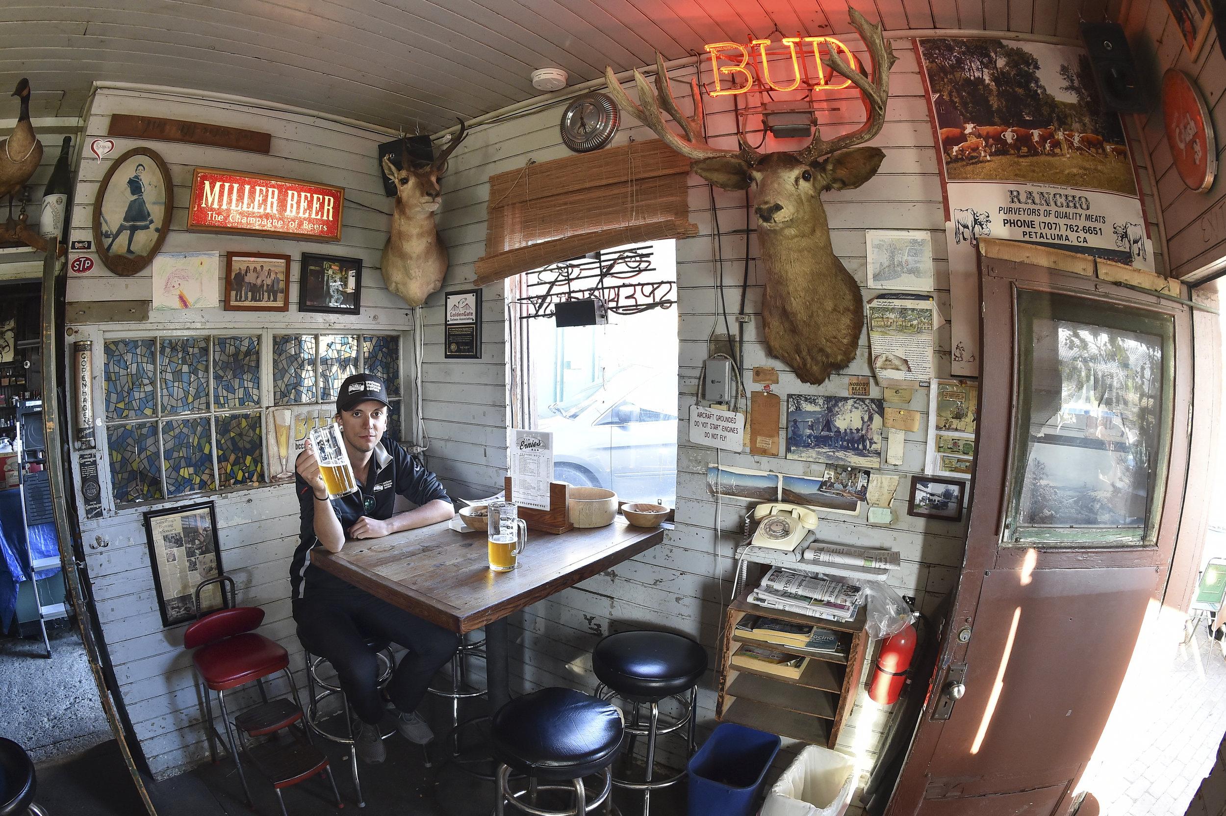 Joe at Ernie's Tin Bar - Sonoma, CA - Shot with Nikon D4S