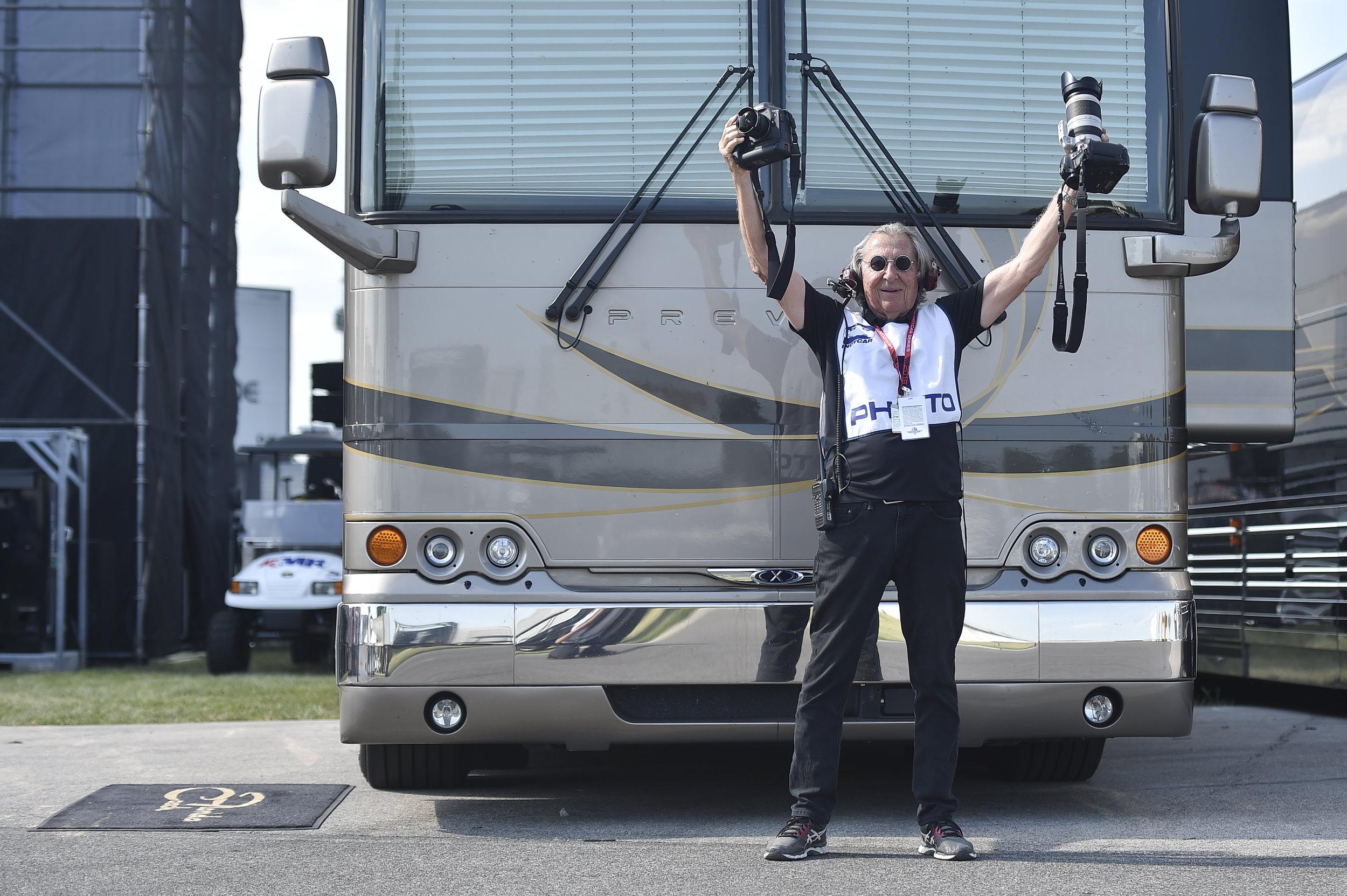 """Slick"" on Tour - Shot with Nikon D4S - Indianapolis Motor Speedway"