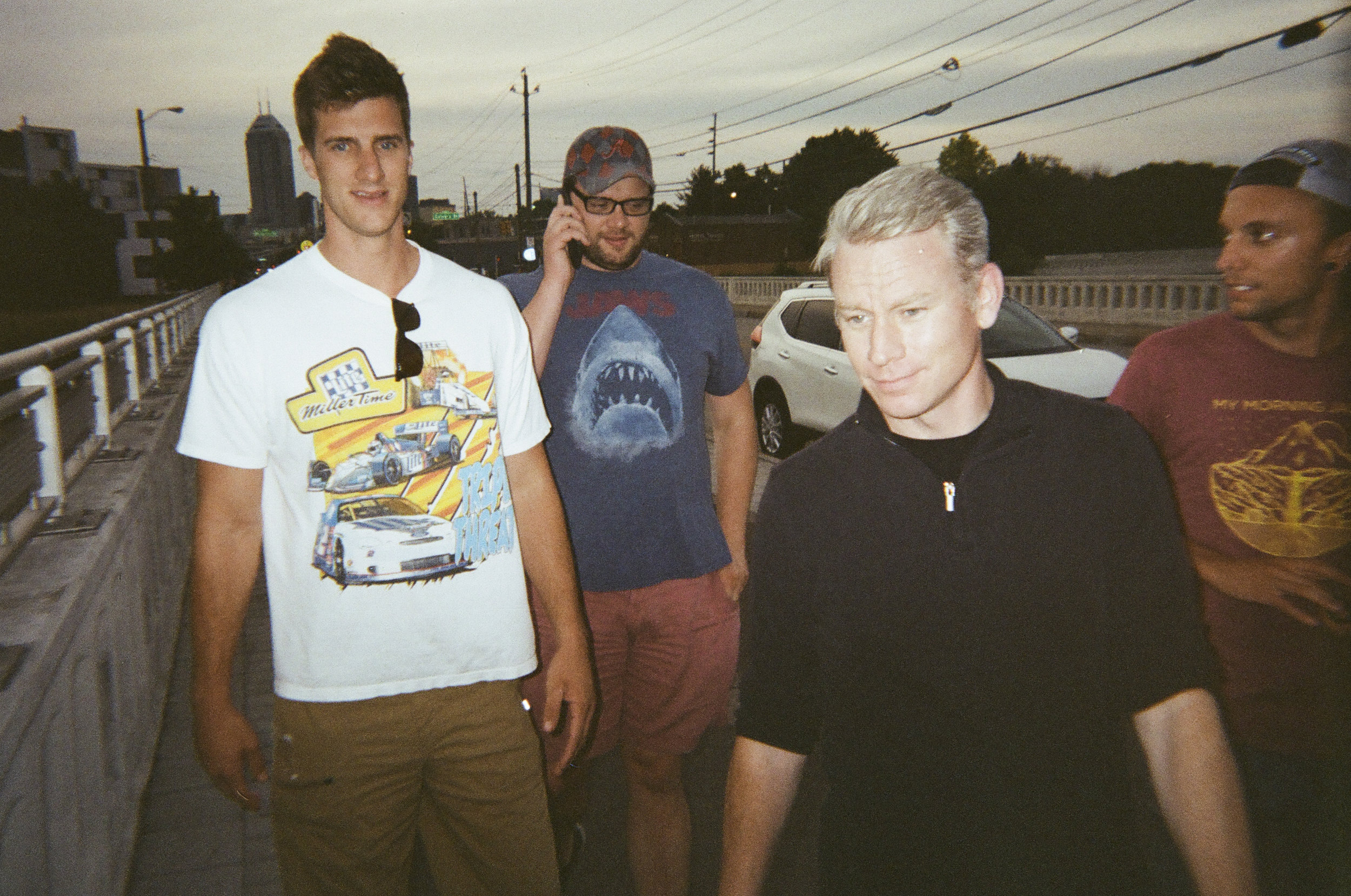 The Crew - Shot on Poloroid Disposable Camera - 35mm Film (Re-Loaded) - Indianapolis, IN
