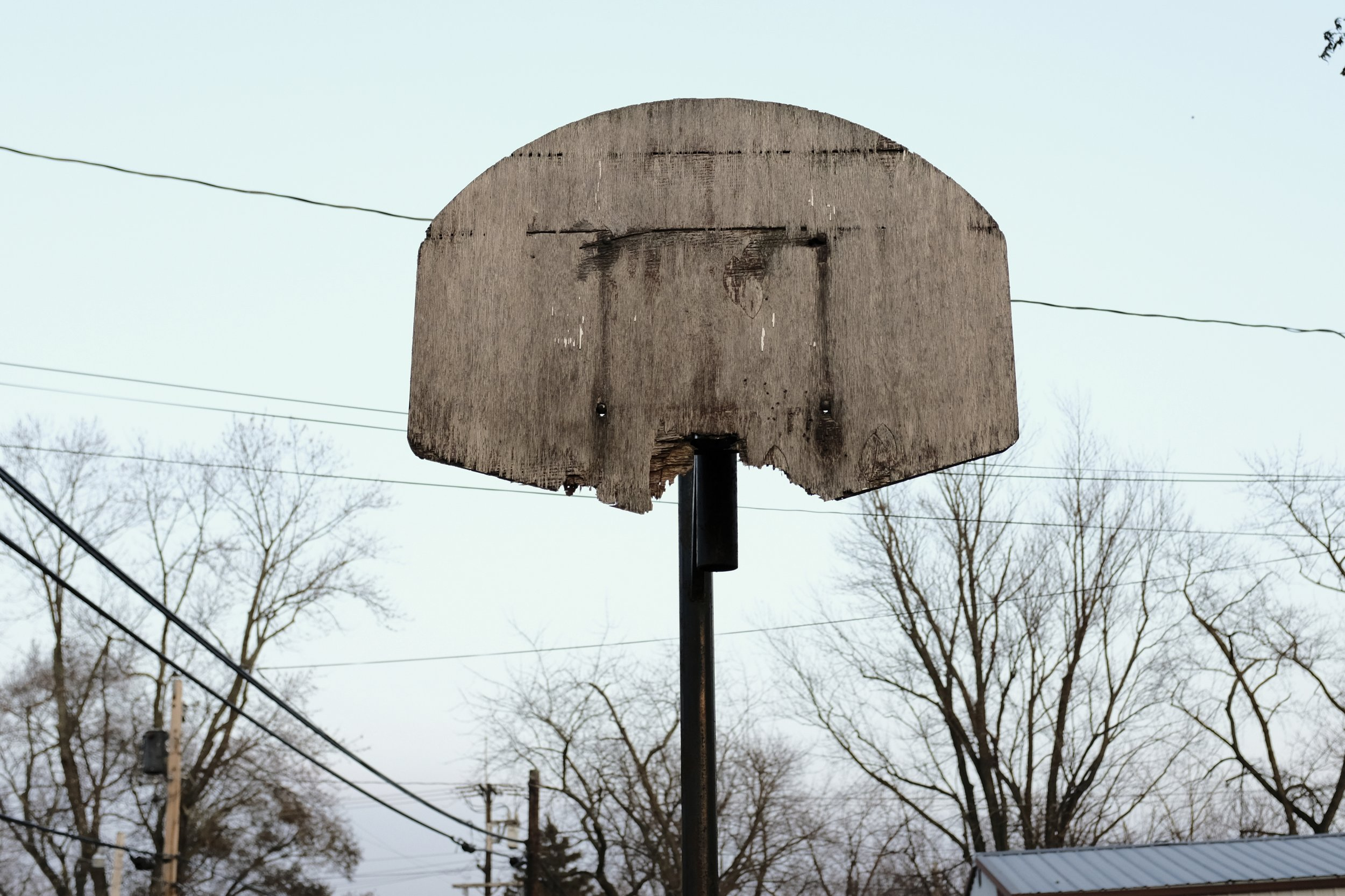 His hoop.
