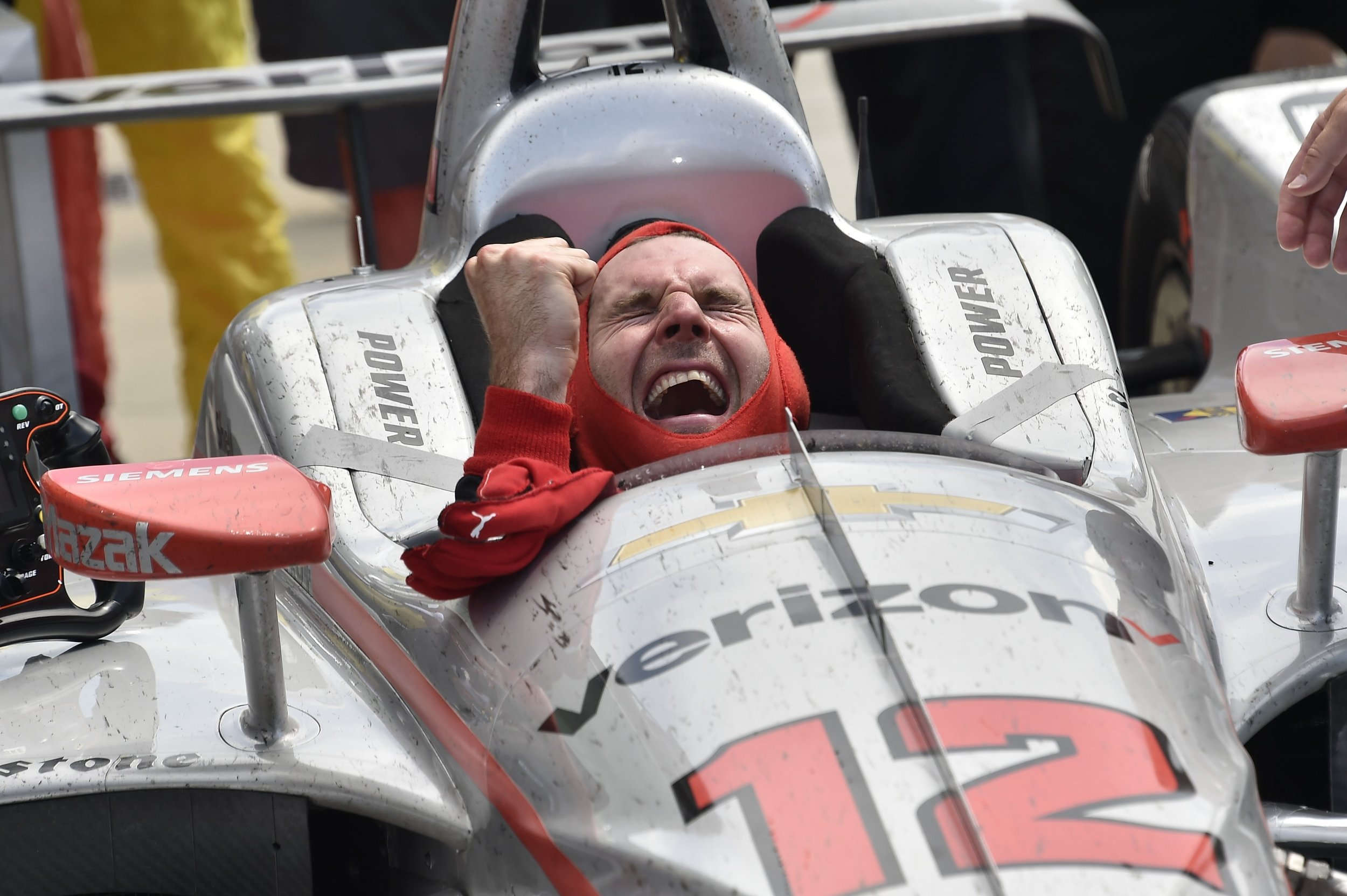 It's been great to see Will improve his oval craft the last few seasons. Will is one of the legends of our sport, racing history could never forget Will Power. After winning the 500 and creating moments like this, how could it?