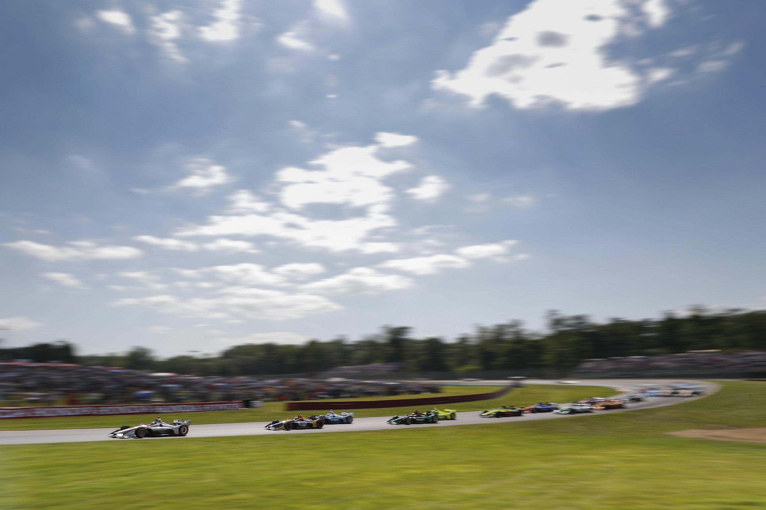 The Start. Honda Indy 200 at Mid-Ohio