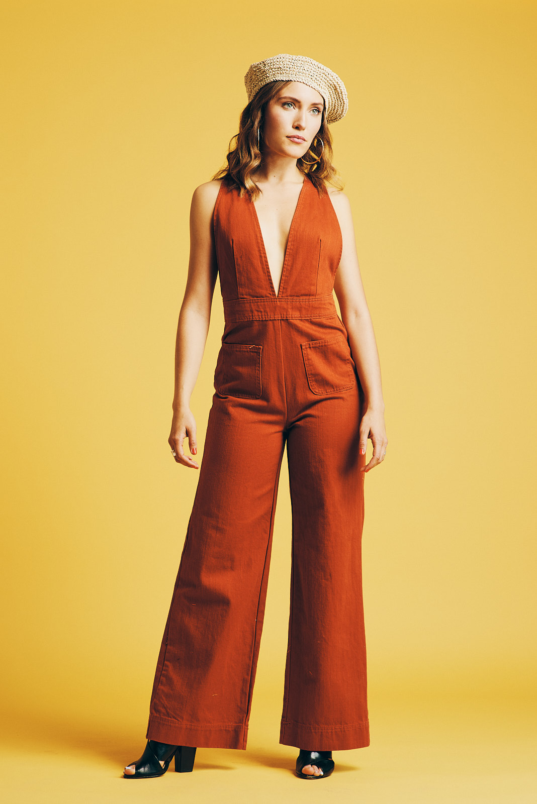 Jumpsuit and Hat: Urban Outfitters Photographer: Noah   Asanias