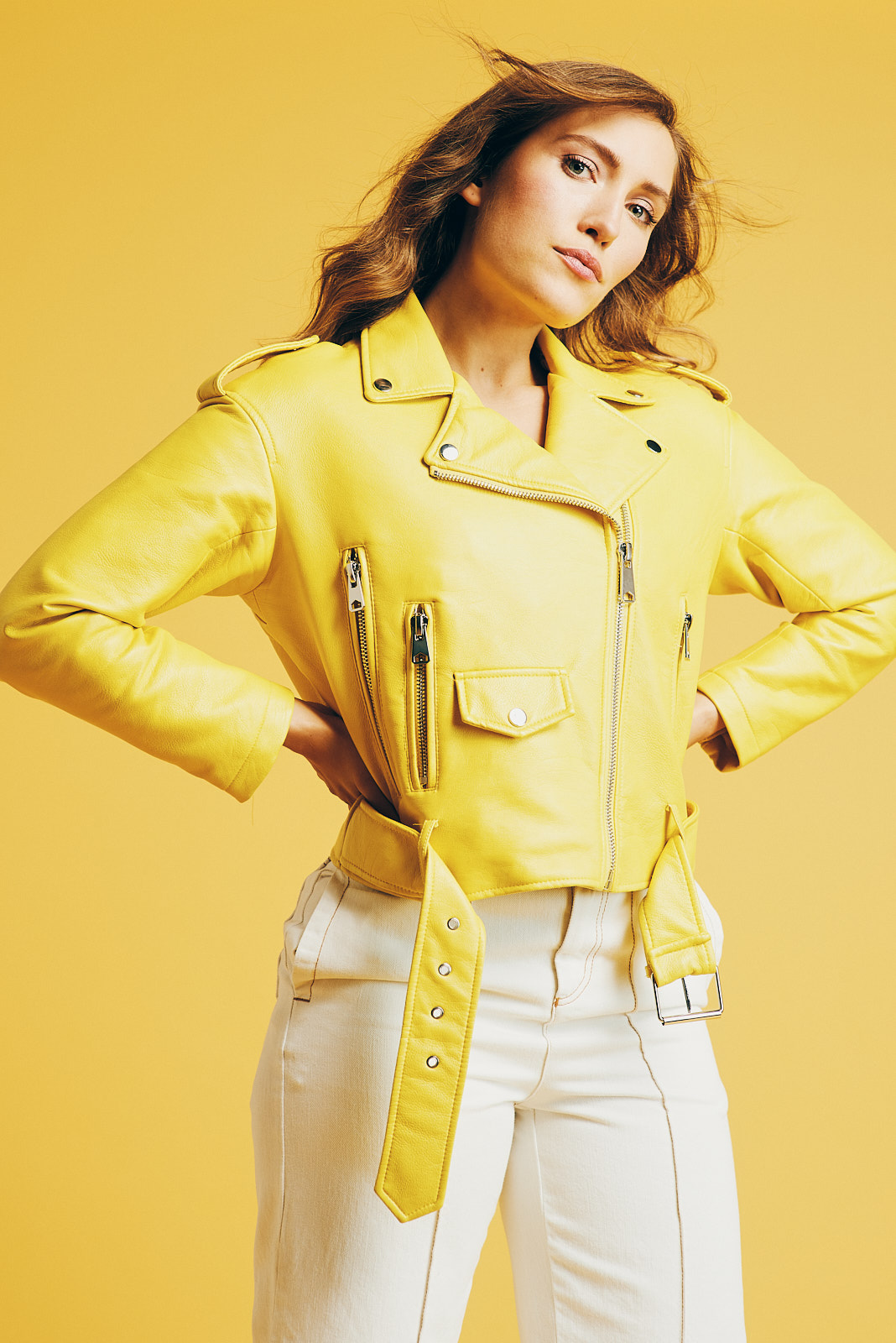 Jacket: Zara Pants: Topshop Photographer: Noah   Asanias