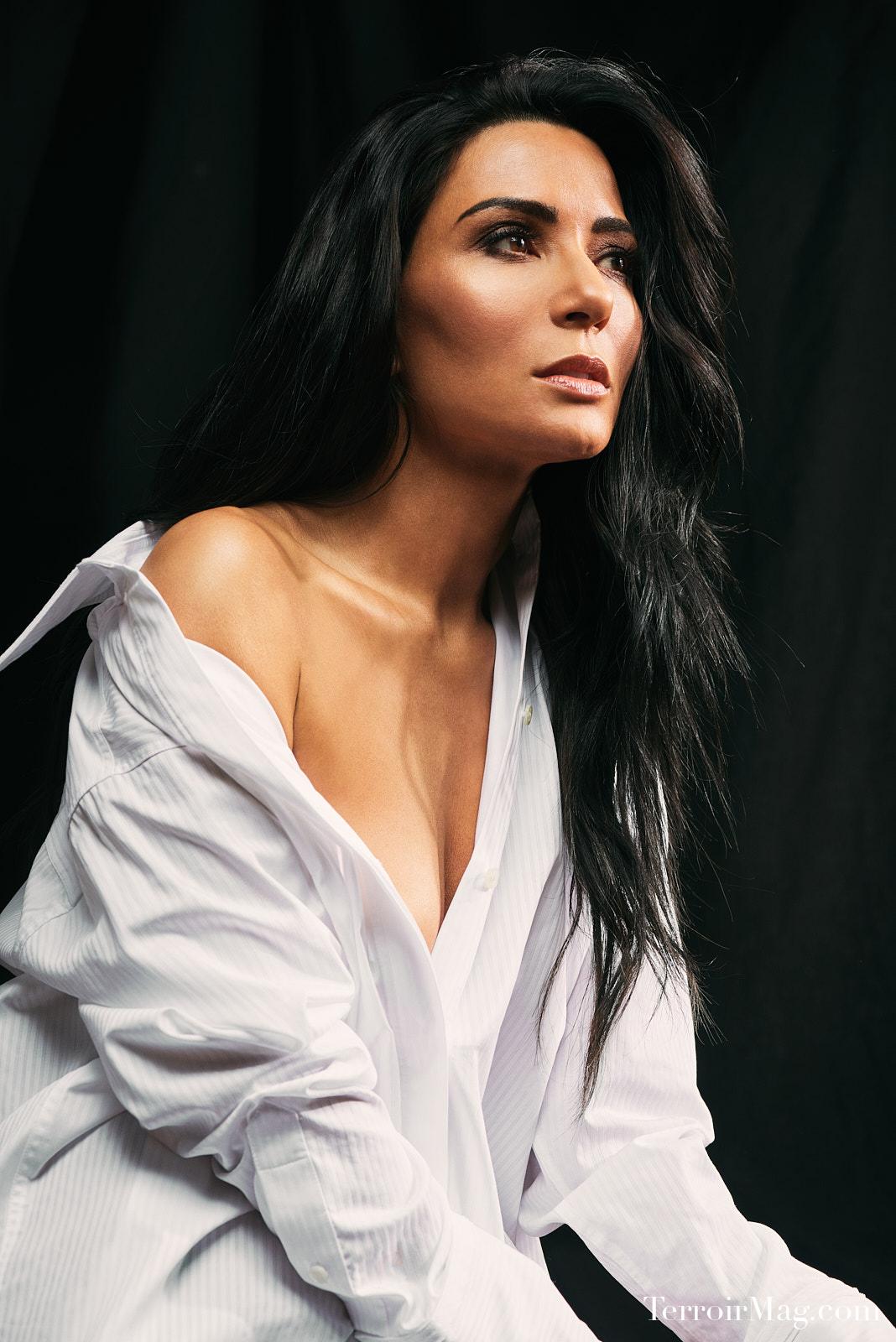 Photographed by:  Noah Asanias  Shirt Dress - Helmut Lang