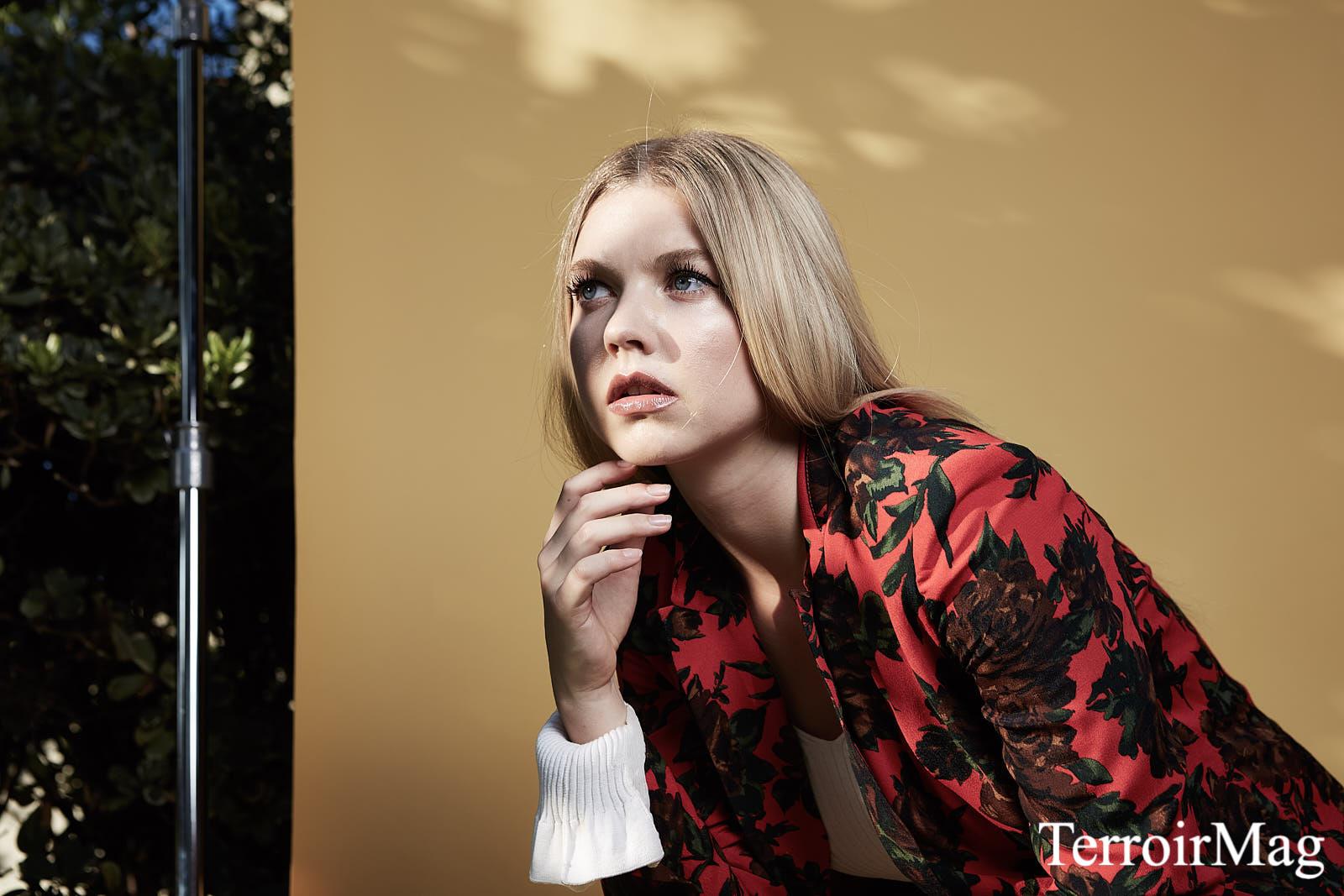 Suit: Zara Top: 3.1 Phillip Lim  Earrings: Caterina Jewelry