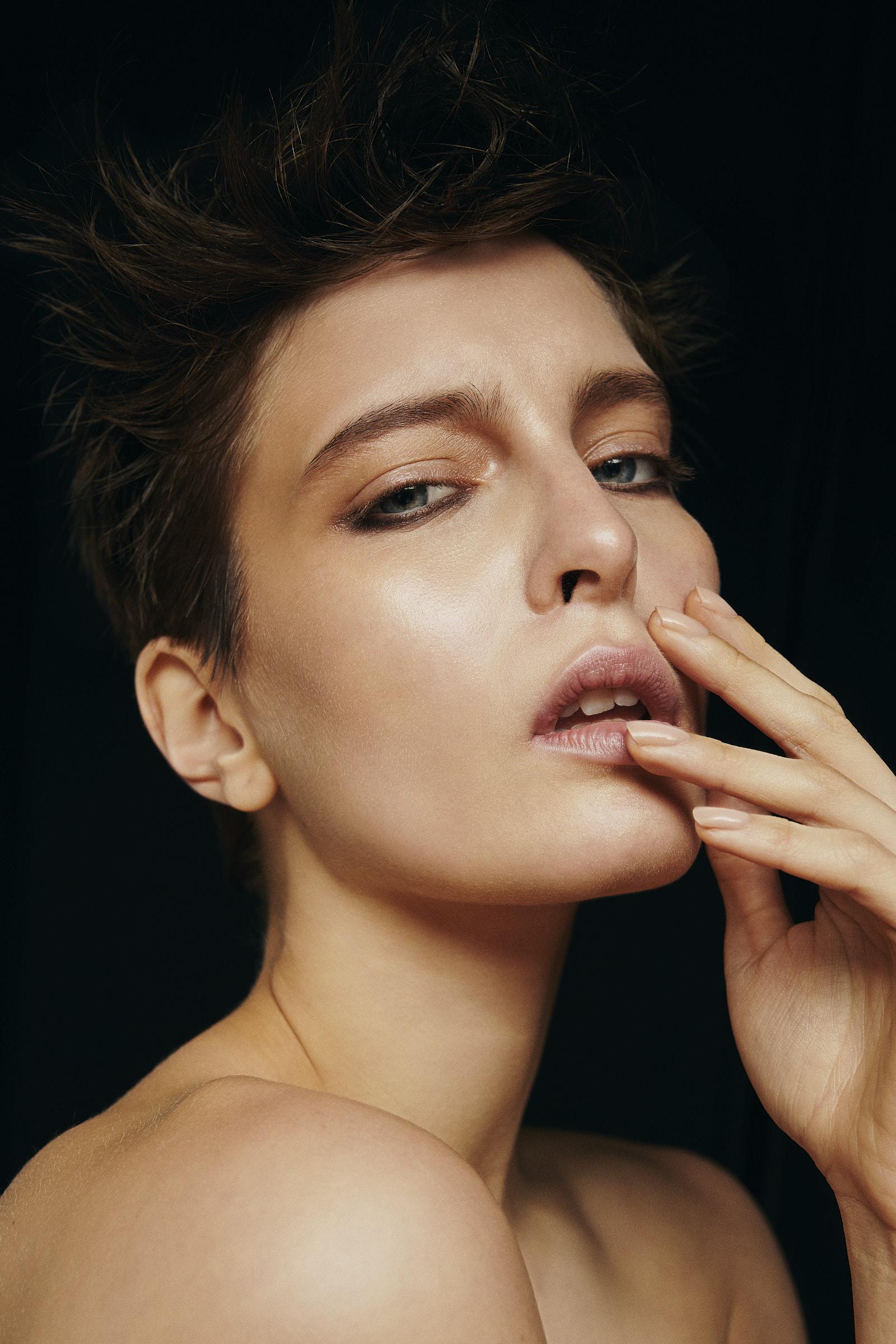 Model Jordan Swail shot by Noah Asanias