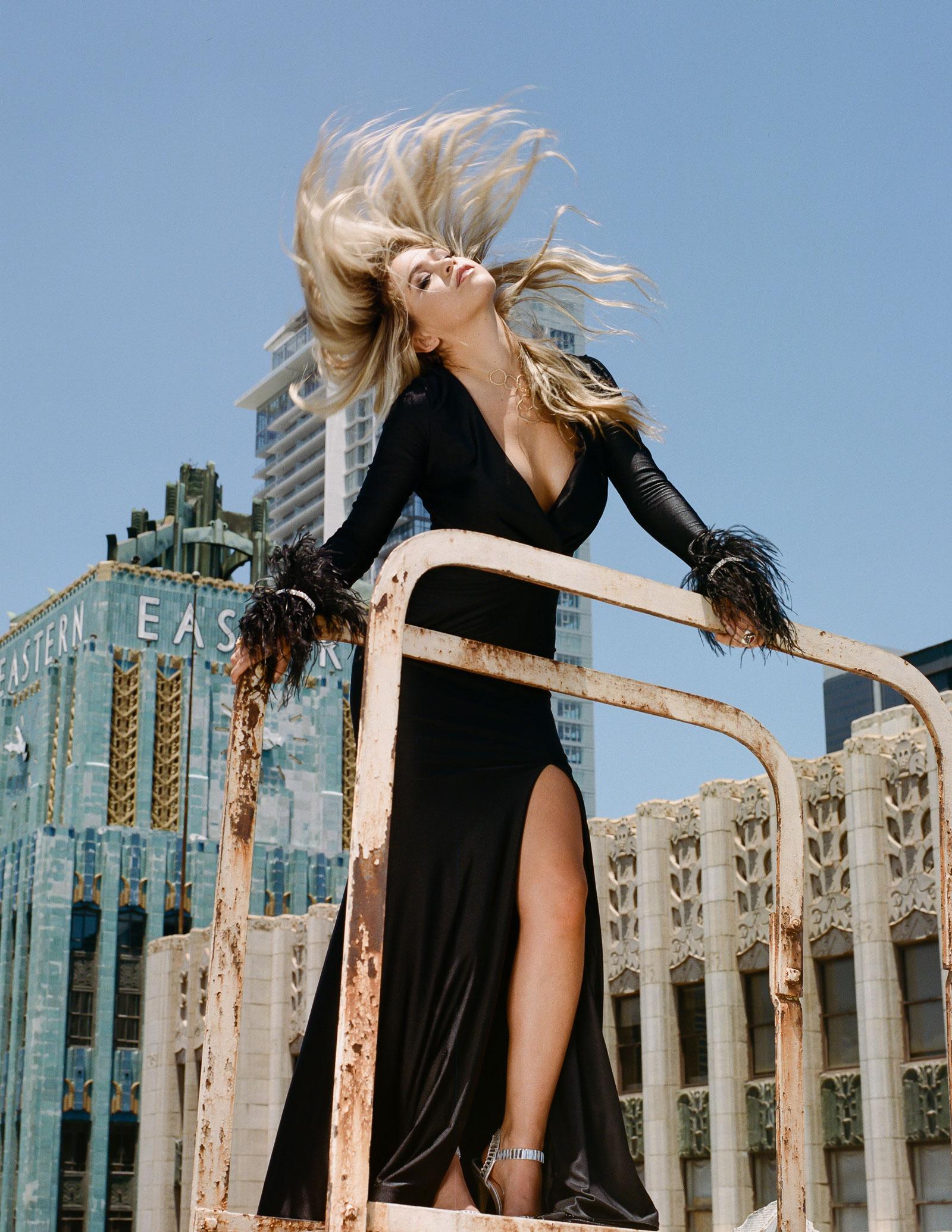 Dress: Jessica Angel Collection Necklace: Charlene K Shoes: Vintage
