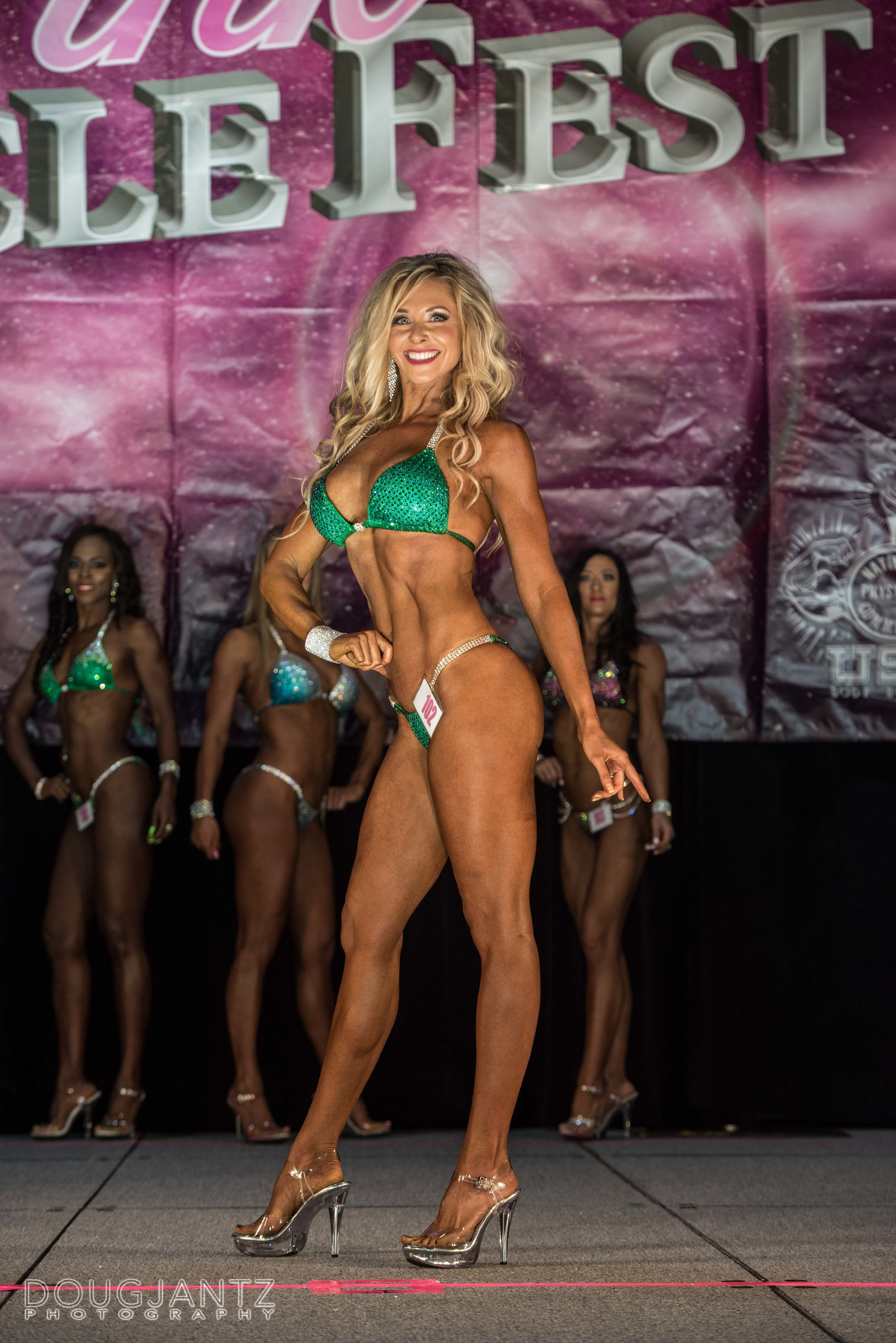 Pink Muscle Fest 2017, Nationally Qualified Athlete