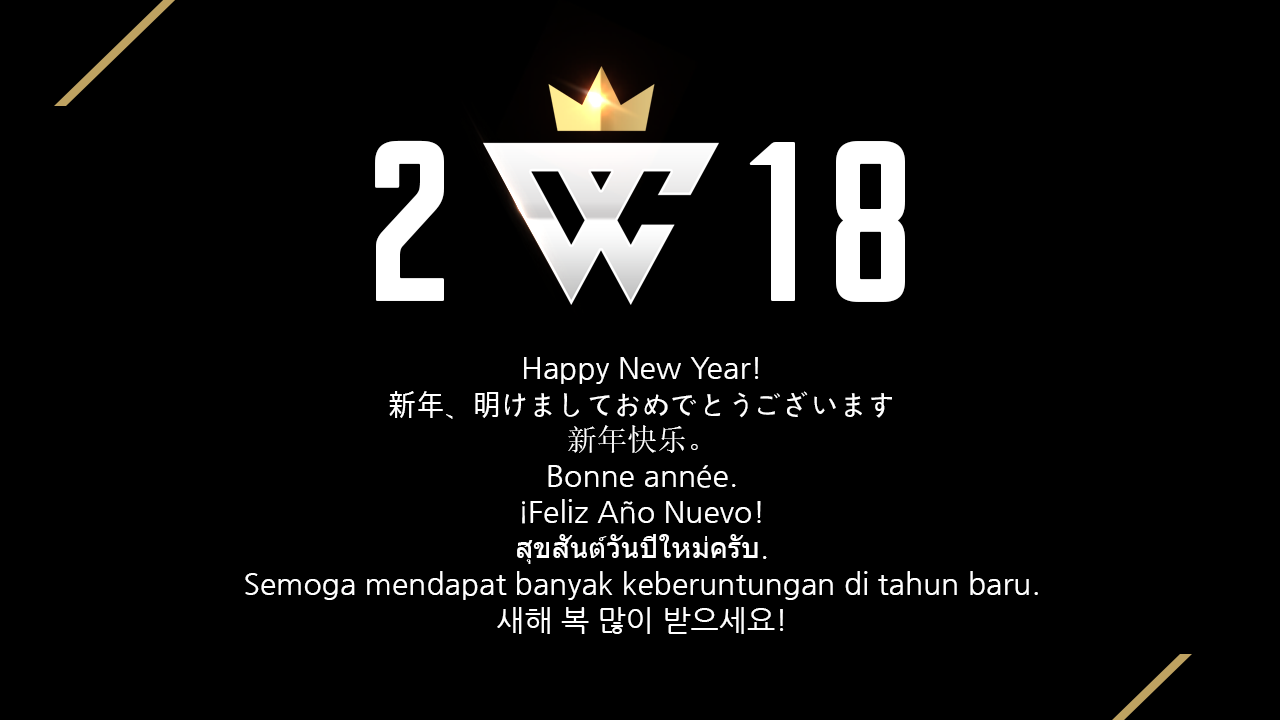 We went through various challenges in this year, and realized that we are not good enough yet.  There are lots of great things to do.  It's our challenge for the new year to make people happy with us.  HAPPY NEW YEAR!