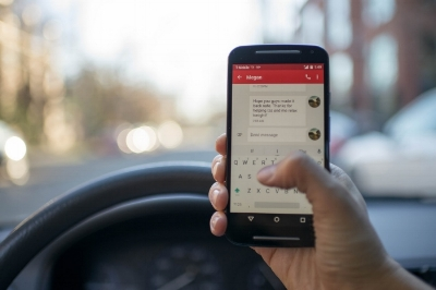 The National Safety Council reports that cell phone use while driving leads to 1.6 million crashes each year worldwide