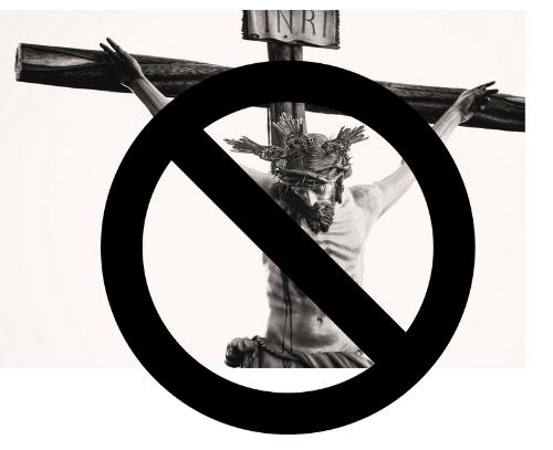 Shut up Jesus and let me masturbate