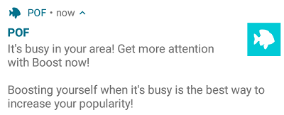 """Whether you're in the Sahara Desert or the middle of the Pacific Ocean, you can be sure that its always """"Busy in your area!"""""""