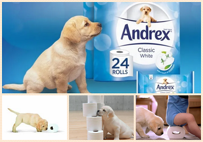 Advertising doesnt work on med Andrex Puppy.png