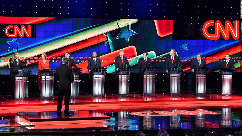 The Framework For Discussion is controlled during presidential TV debates as the mainstream media is allowed to choose which questions are asked and which are not.