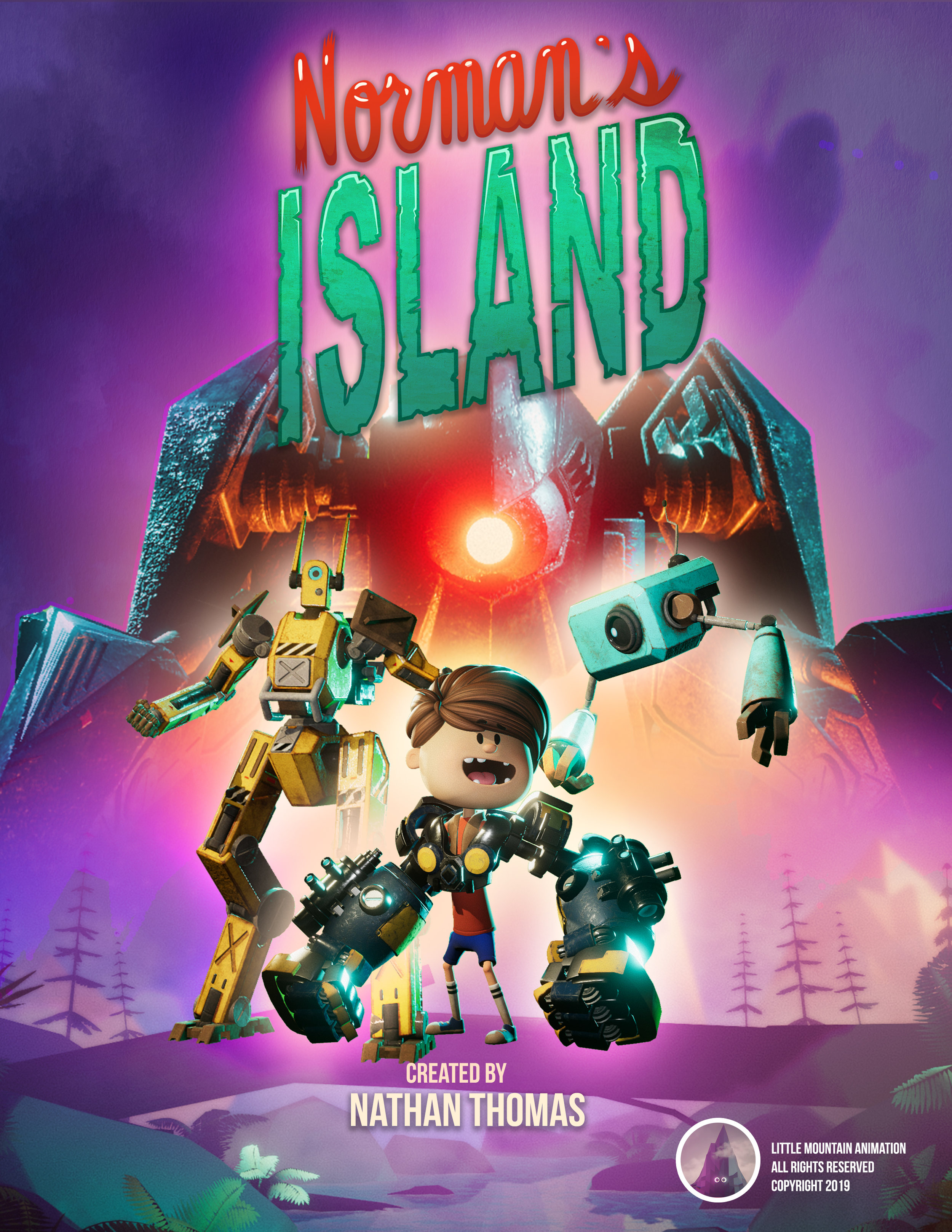 "Our Properties - We are currently developing ""Norman's Island"" as an animated series for kids aged 8-12"