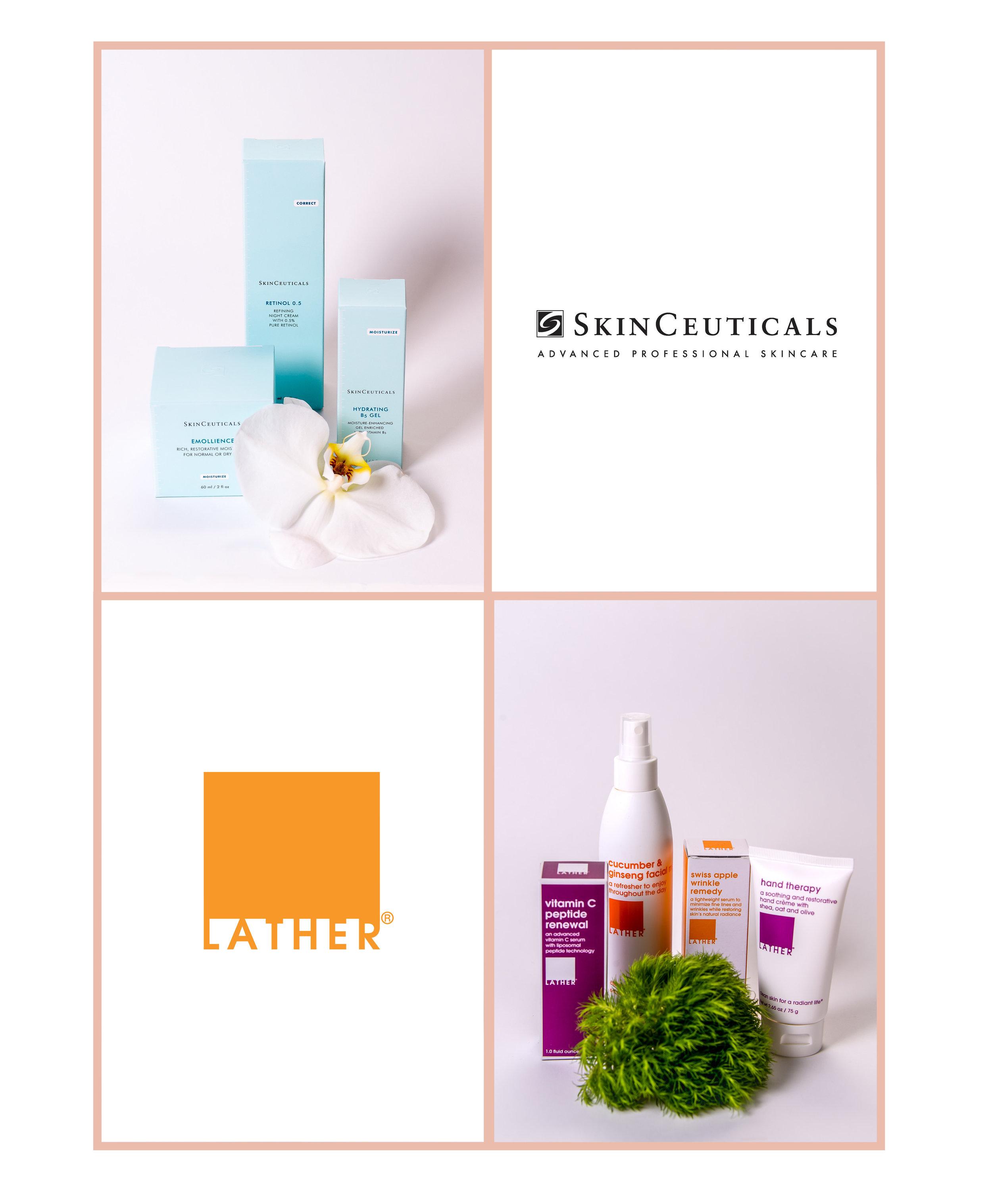 Skin Care Products + Facials + Waxing + Peels + Esthetician