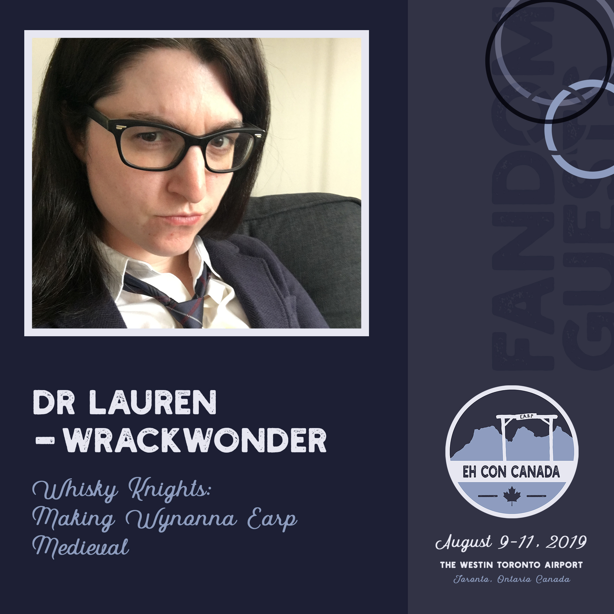 Dr. Lauren aka Wrack Wonder   More info on her panel  here !
