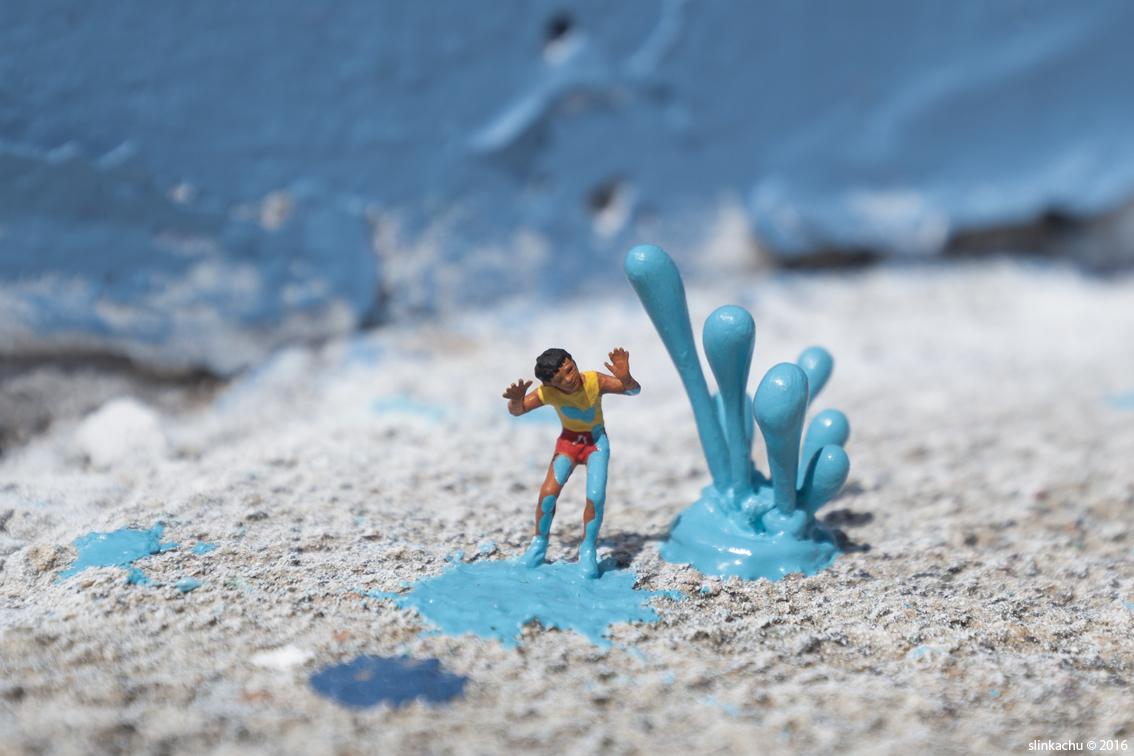 Art Installation + Photograph via  Slinkachu