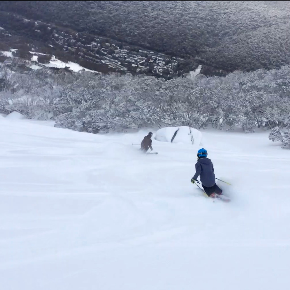 Take advantage of first tracks in Thredbo, only 15 minutes up the road.