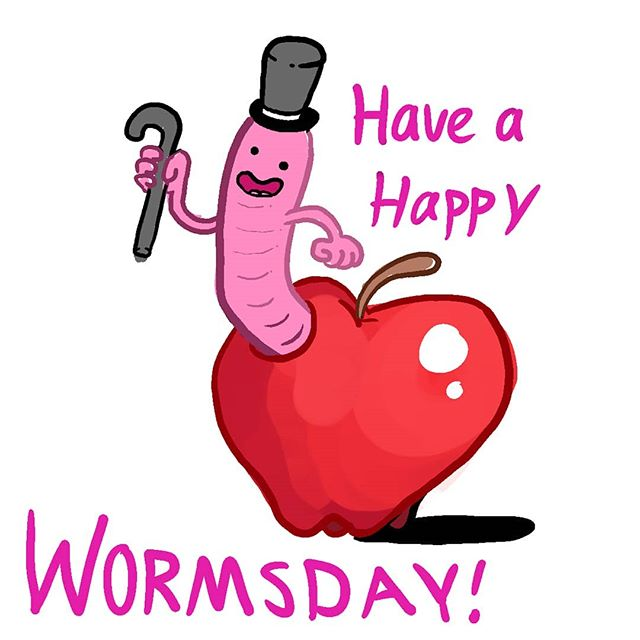 Happy Wormsday friends! . . Whether you're having a blast or you're in the middle of a mid life crisis, just know that the weeks halfway over. Take it easy, pet a dog, and text that person you've been thinking about. Leave a worm below for a week of good luck. . . #wednesday #worms #wednesdayisfortheworms #artistic #drawings #artwork #artsy #freelanceillustrator #artistsoninstagram #prilaga #illustrator #artist #artists #arts #arte #drawing #art #artoftheday #artistsofinstagram #instaart #illustrators