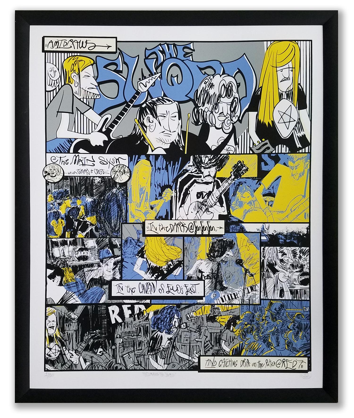 "Ami Draws the Sword - Screenprint (Ed. of 50) 22x28"" . Buy>"