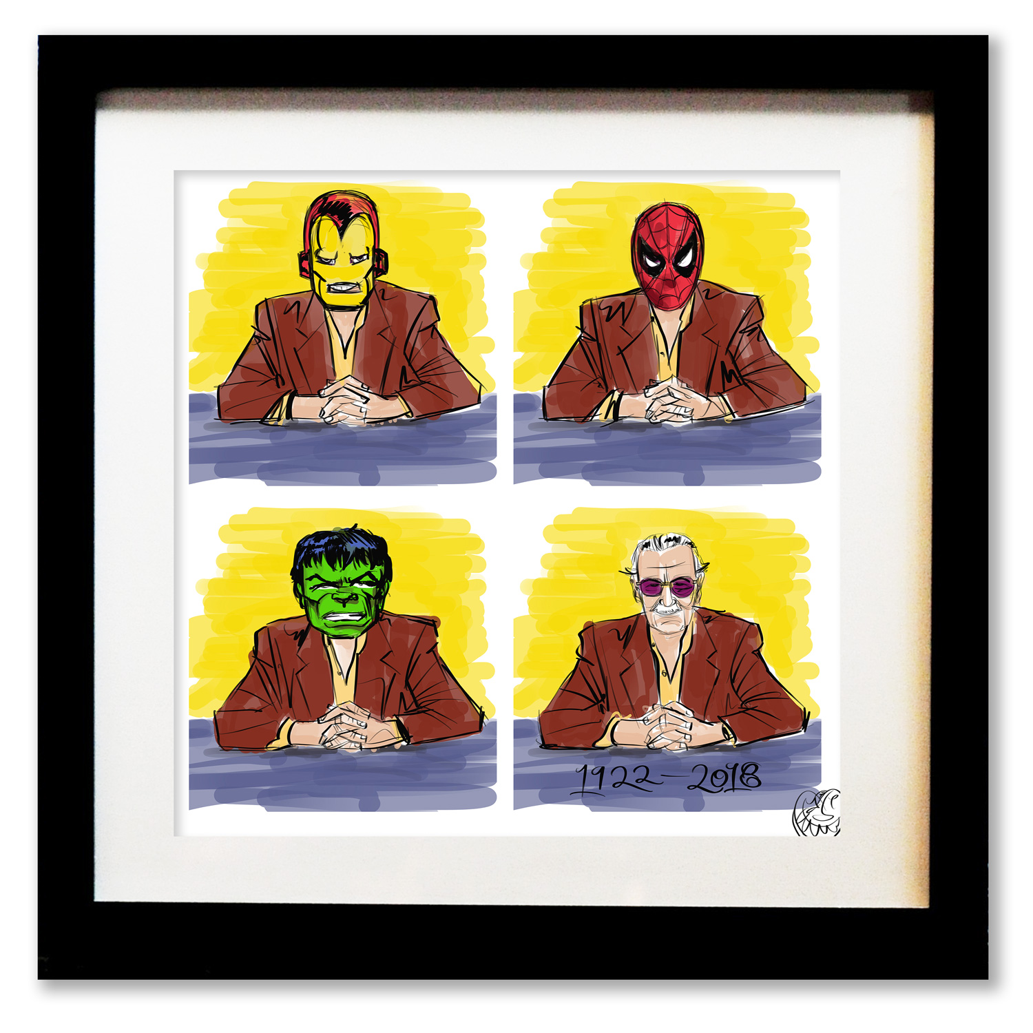 Stan Lee.  Buy>