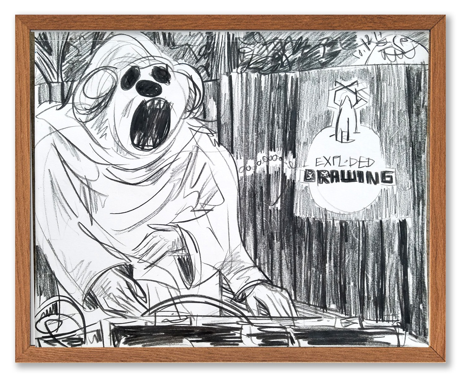 Butcher Bear of Exploded Drawing at Empire.  Buy>